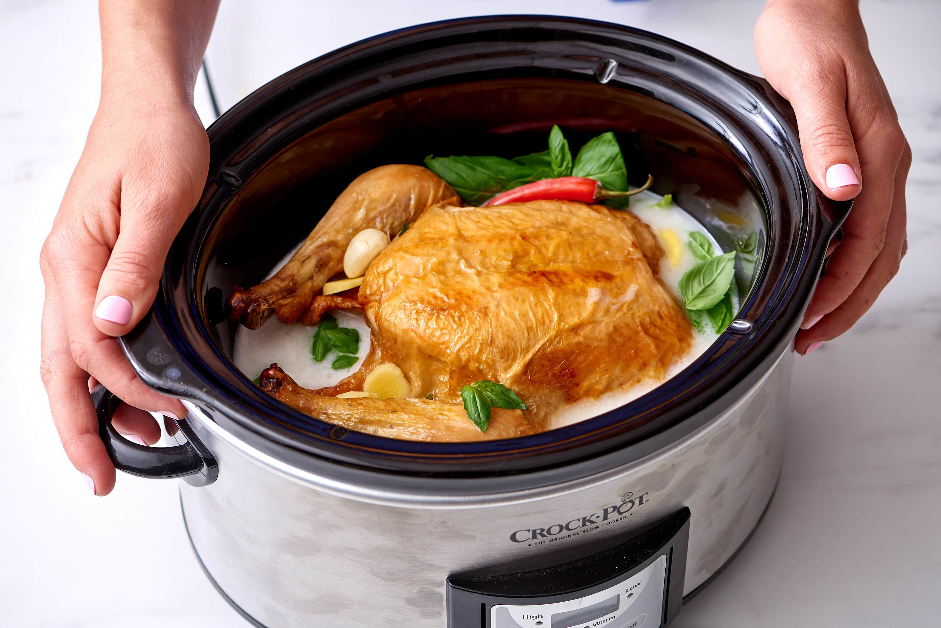 How To Cook A Whole Chicken In Coconut Milk In The Slow -3935