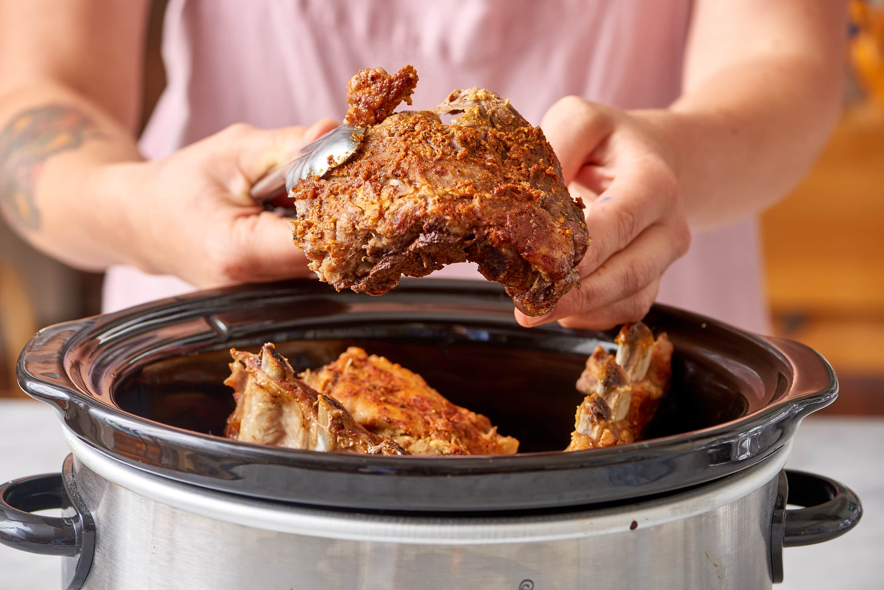 How To Make the Best BBQ Baby Back Ribs in the Slow Cooker: gallery image 7