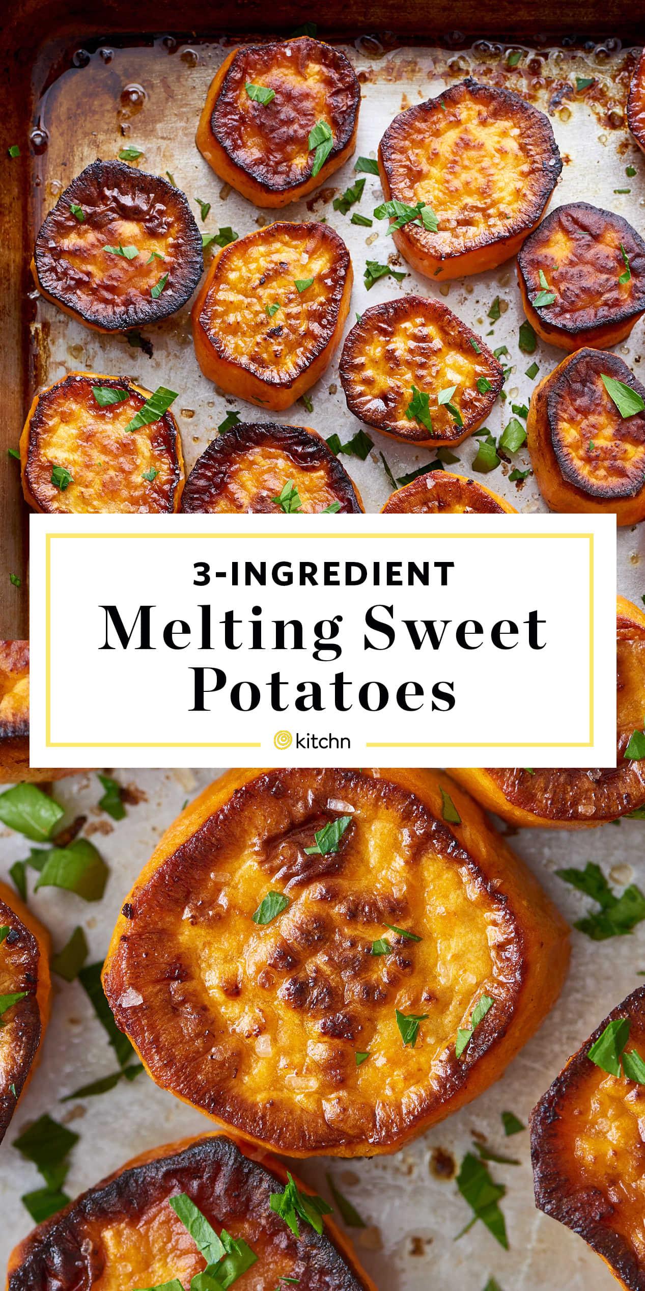 Melting Sweet Potatoes Recipe
