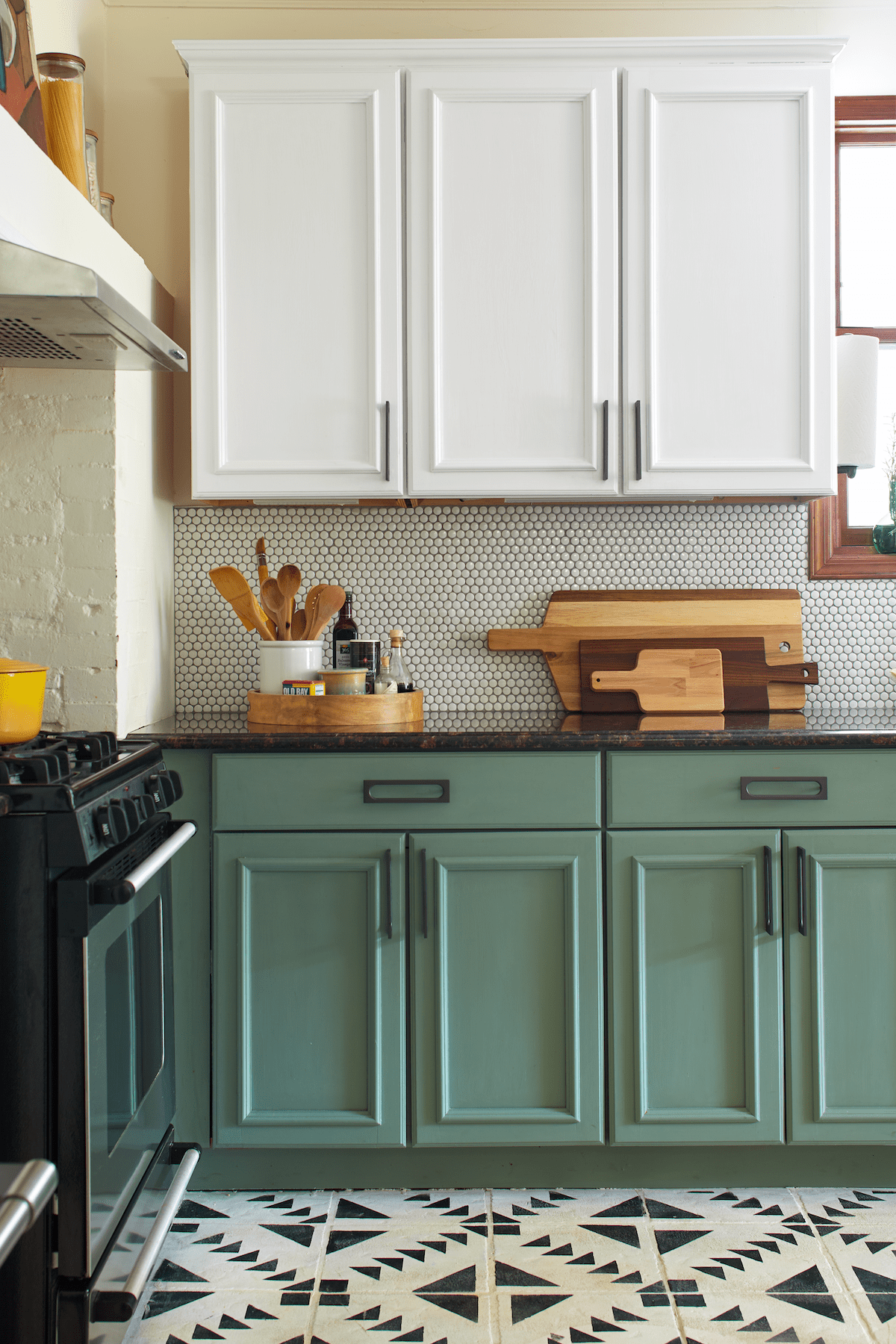I Painted My Entire Kitchen with Chalk Paint | Kitchn on
