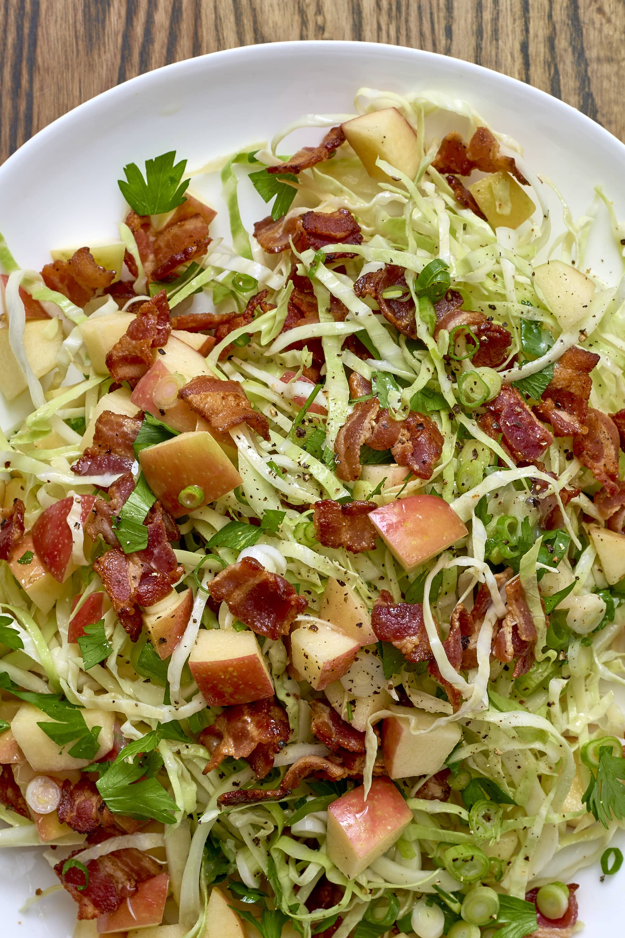 Recipe: Apple-Bacon Slaw
