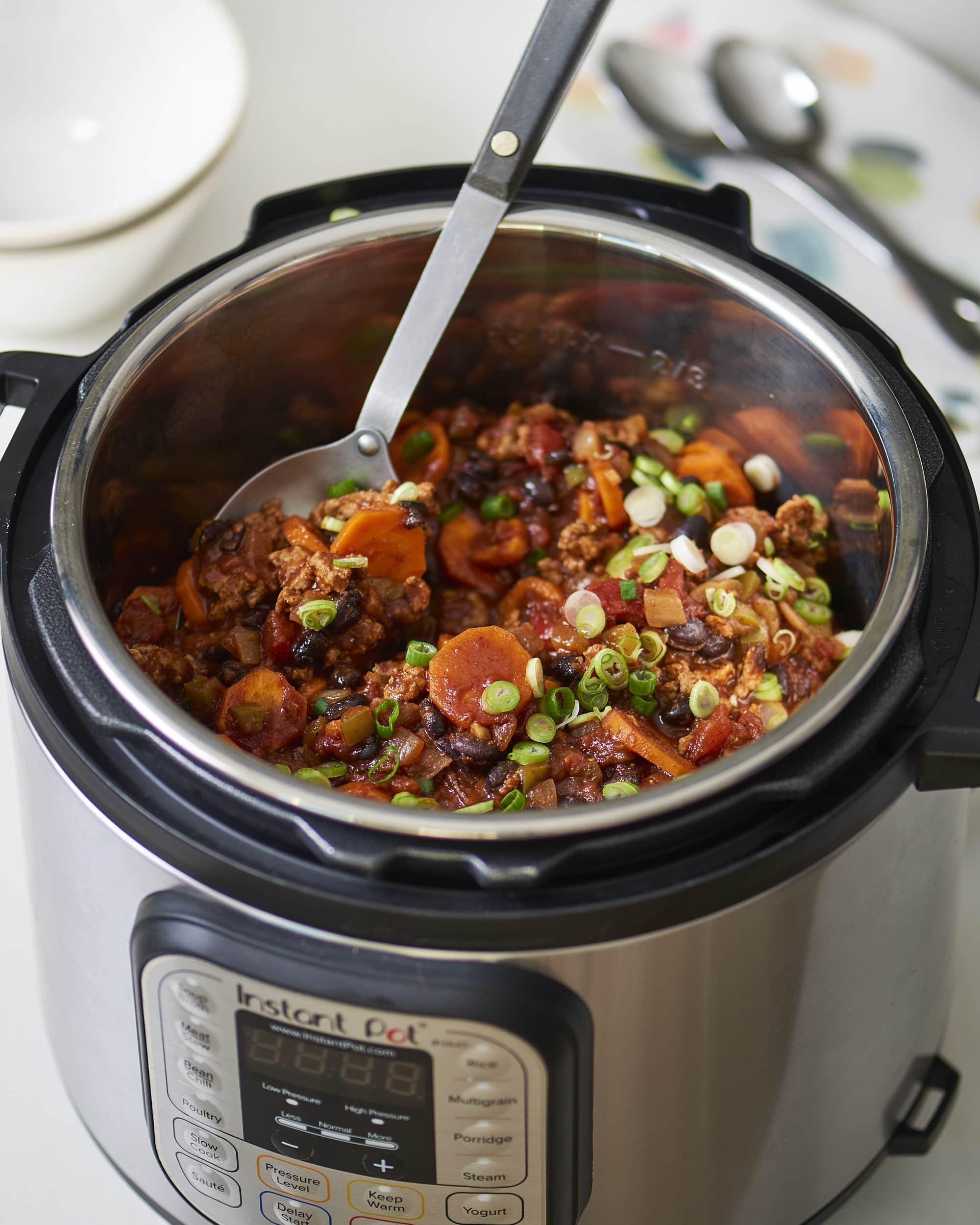 Recipe: Instant Pot Turkey Chili