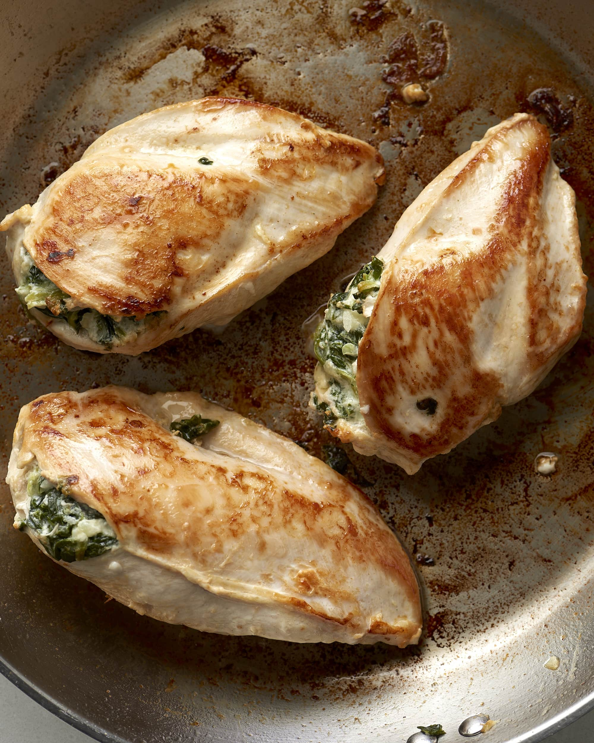 How To Make Stuffed Chicken Breast With Spinach & Cheese