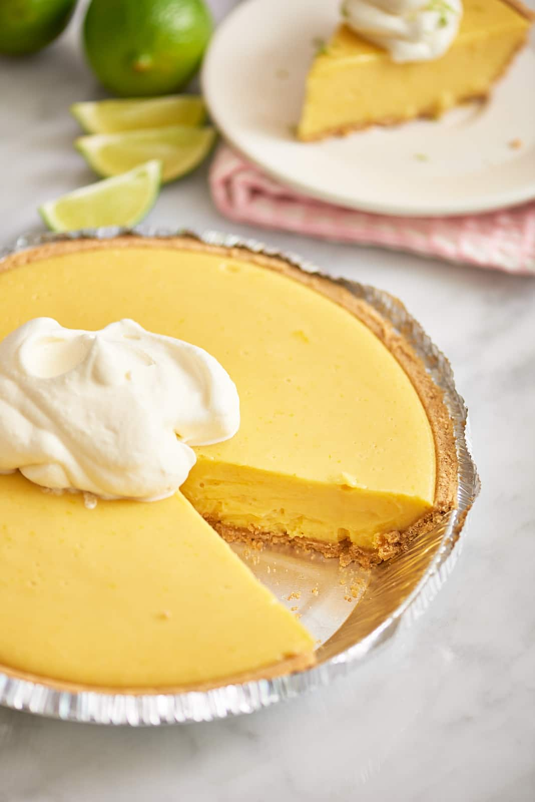 Best Key Lime Pie in FLA - beauty - pie with slice out