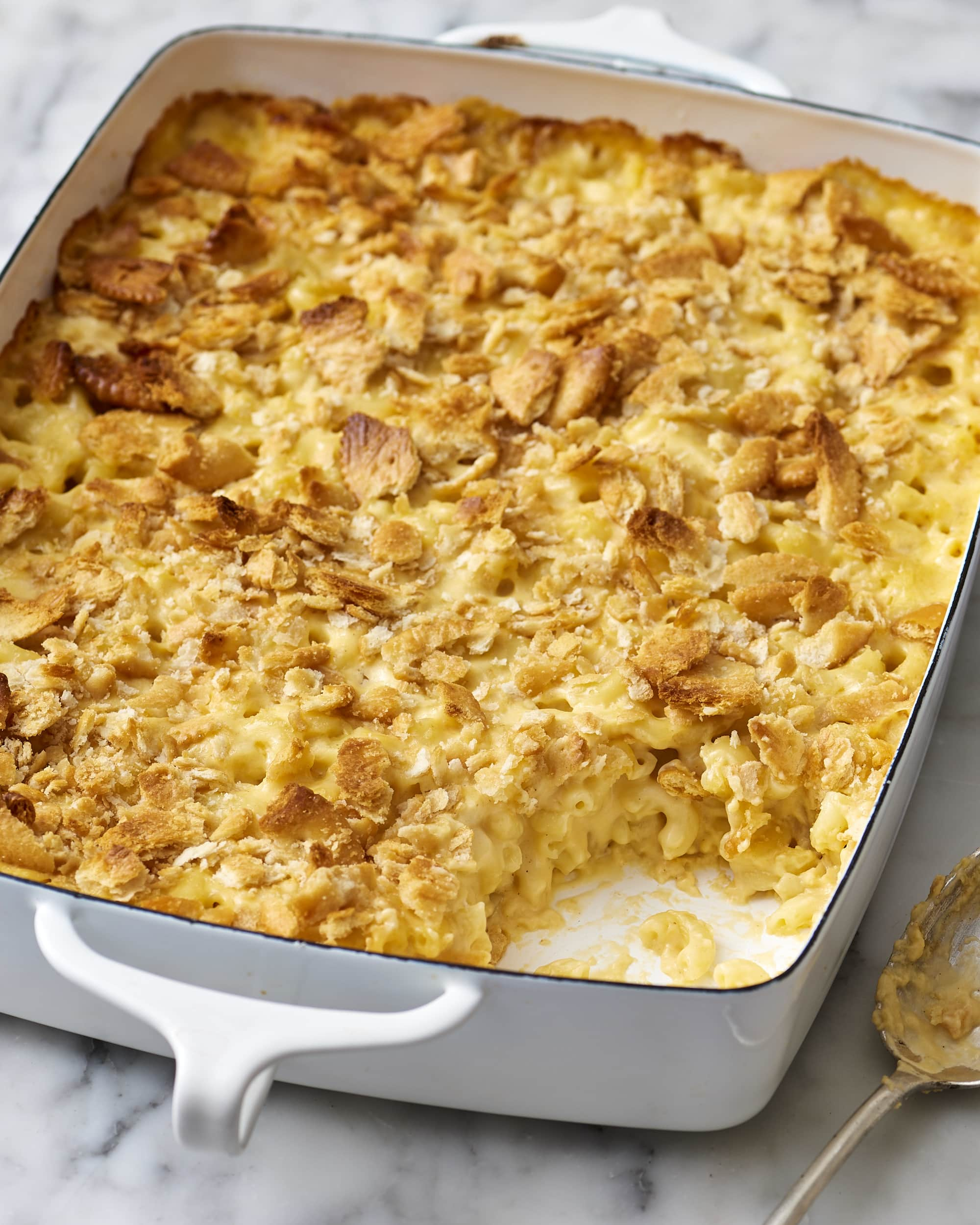Recipe: Make-Ahead Creamy Mac & Cheese Casserole