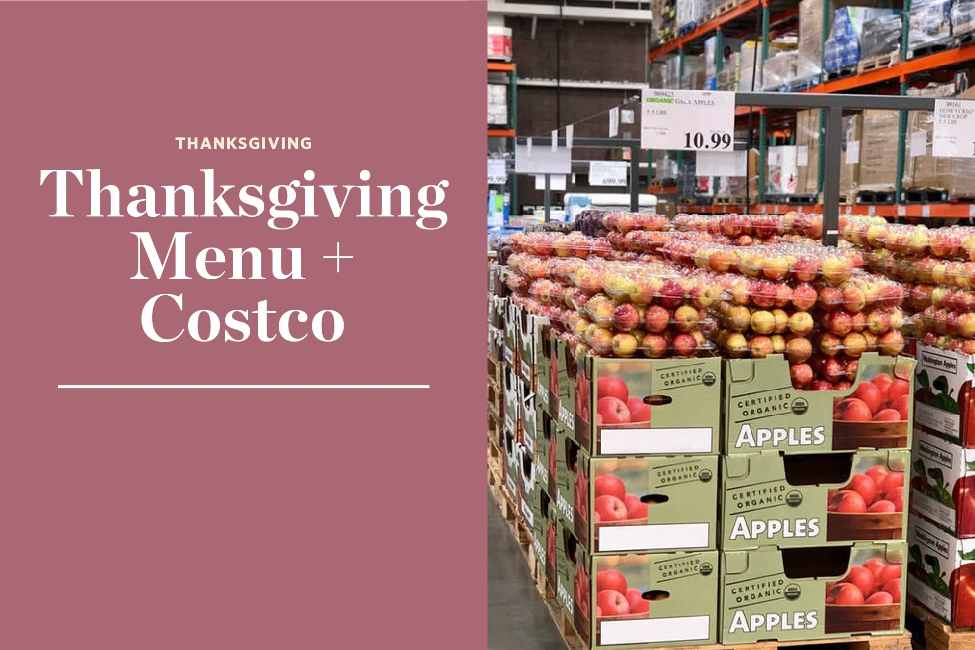 I Went Shopping for Thanksgiving at Costco & This Is How Much It Cost