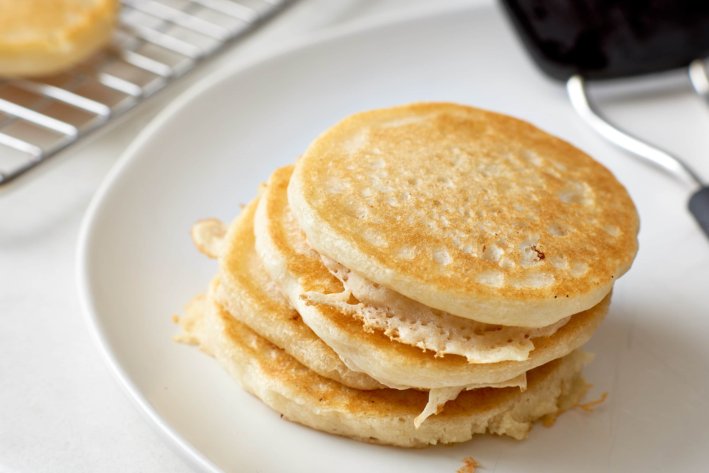 How To Make Fluffy Vegan Pancakes from Scratch: gallery image 8