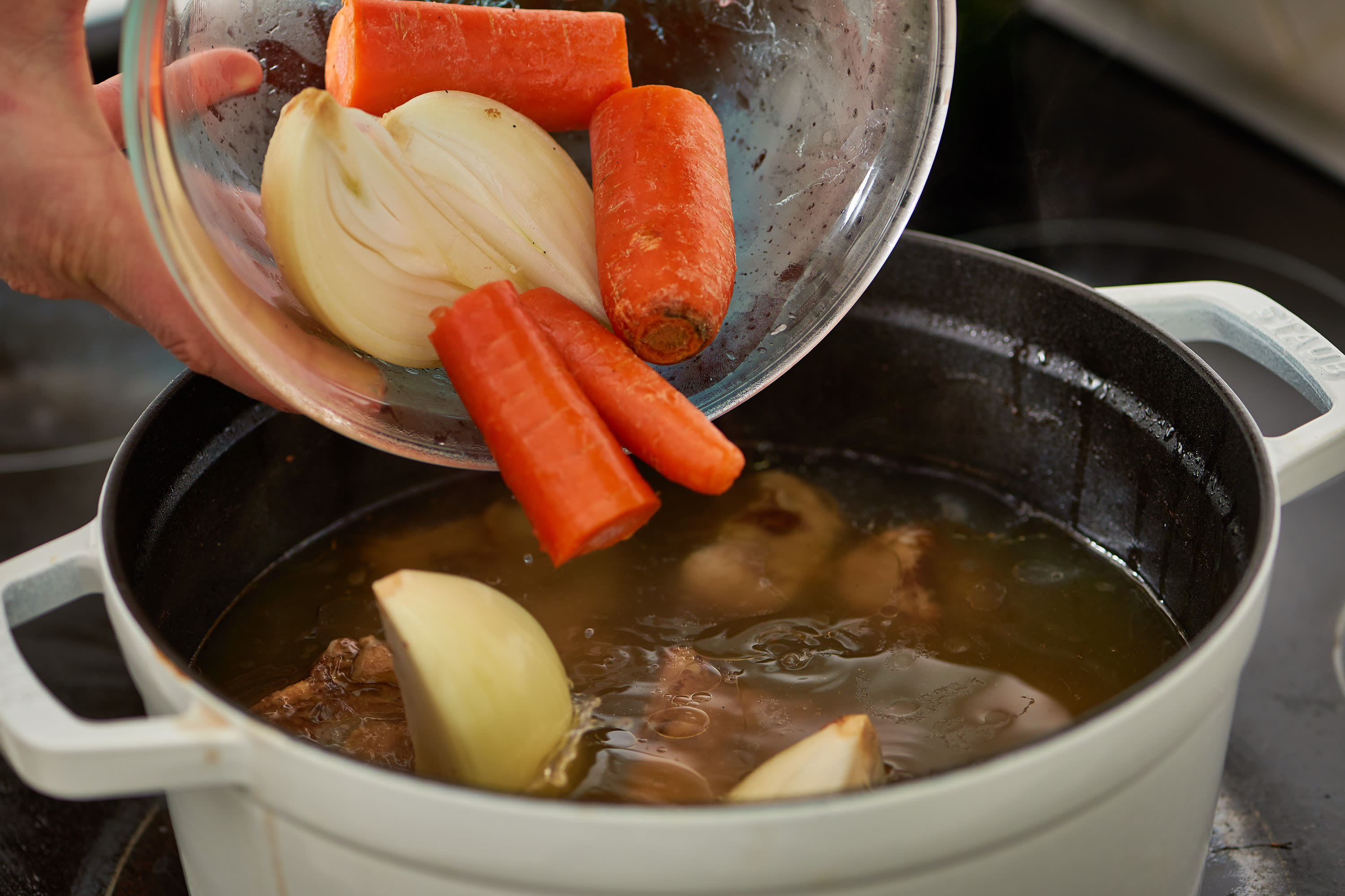How To Make Chicken Bone Broth on the Stovetop or Slow Cooker: gallery image 8