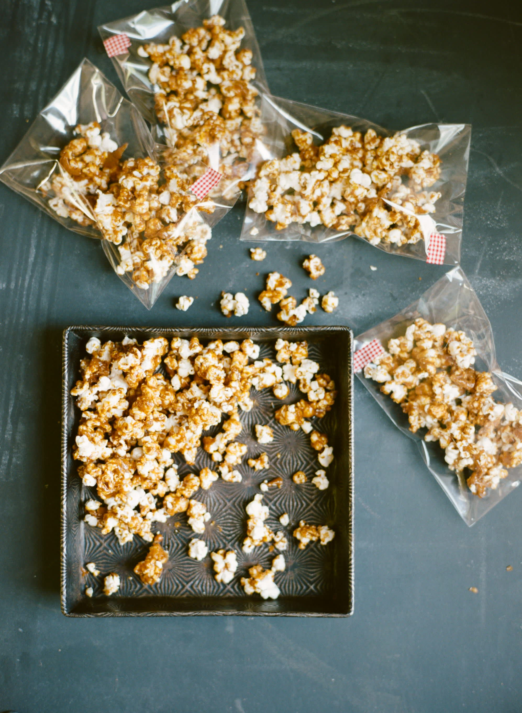 Smoky Candied Popcorn