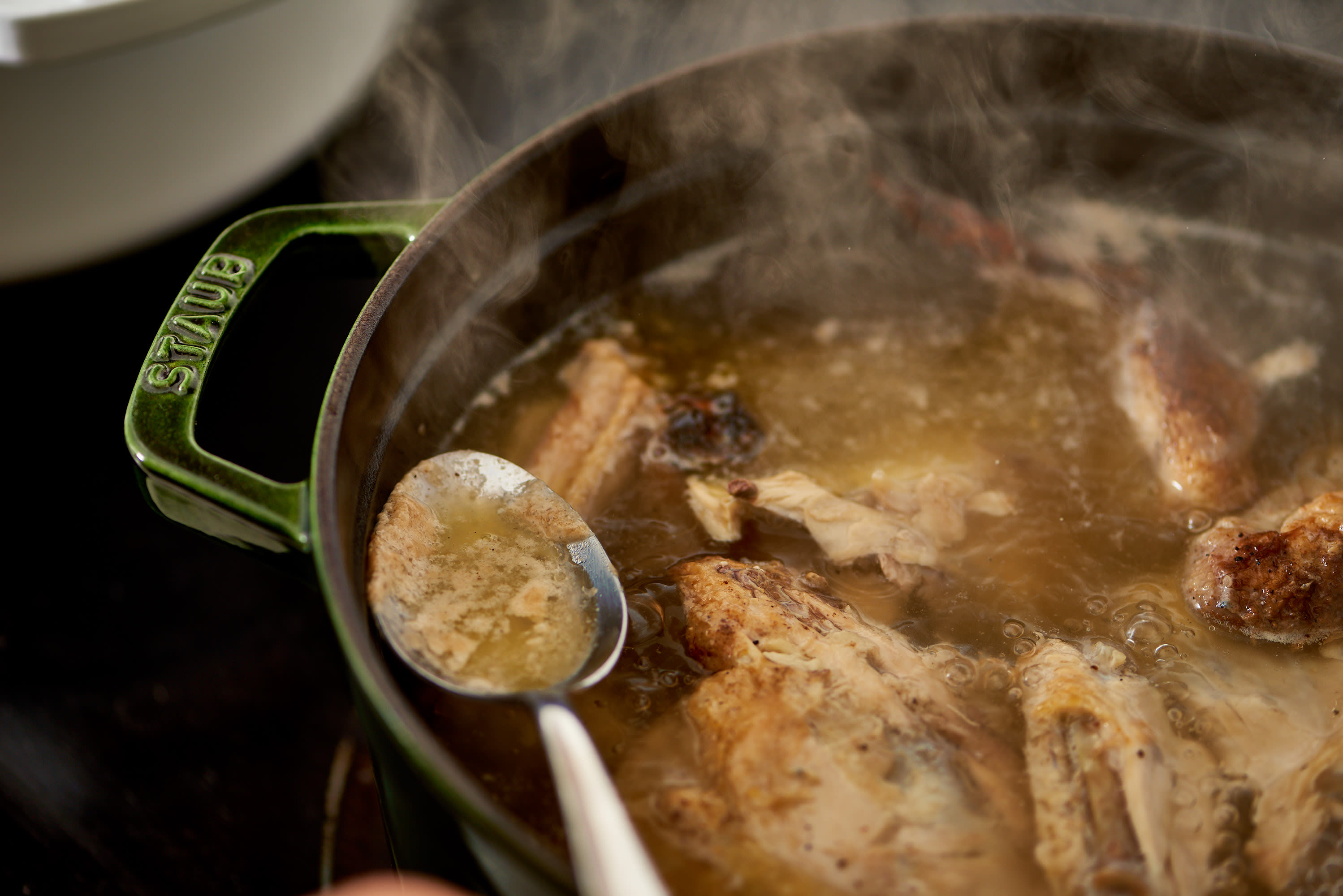 How To Make Chicken Bone Broth on the Stovetop or Slow Cooker: gallery image 7