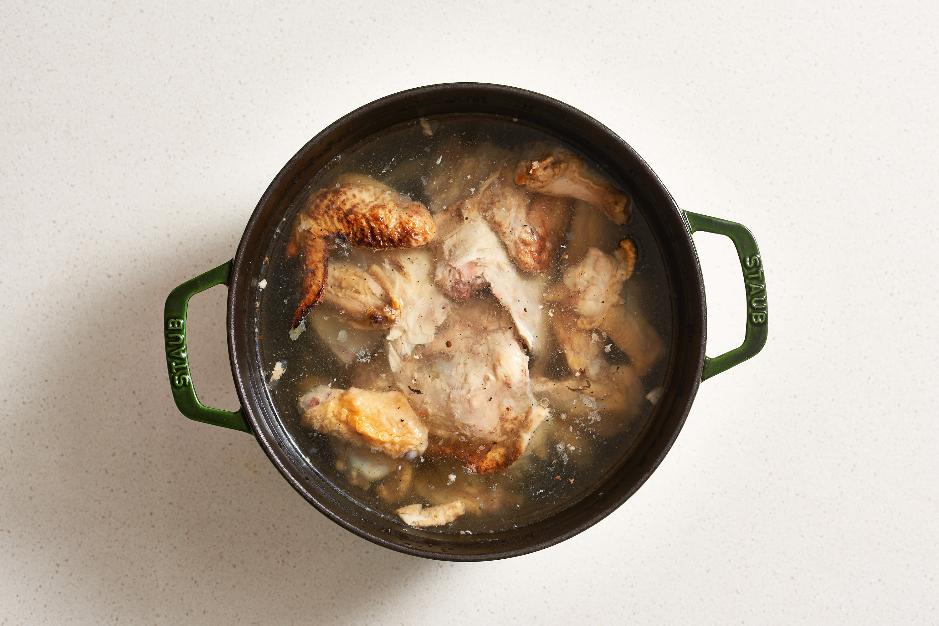 How To Make Chicken Bone Broth on the Stovetop or Slow Cooker: gallery image 5
