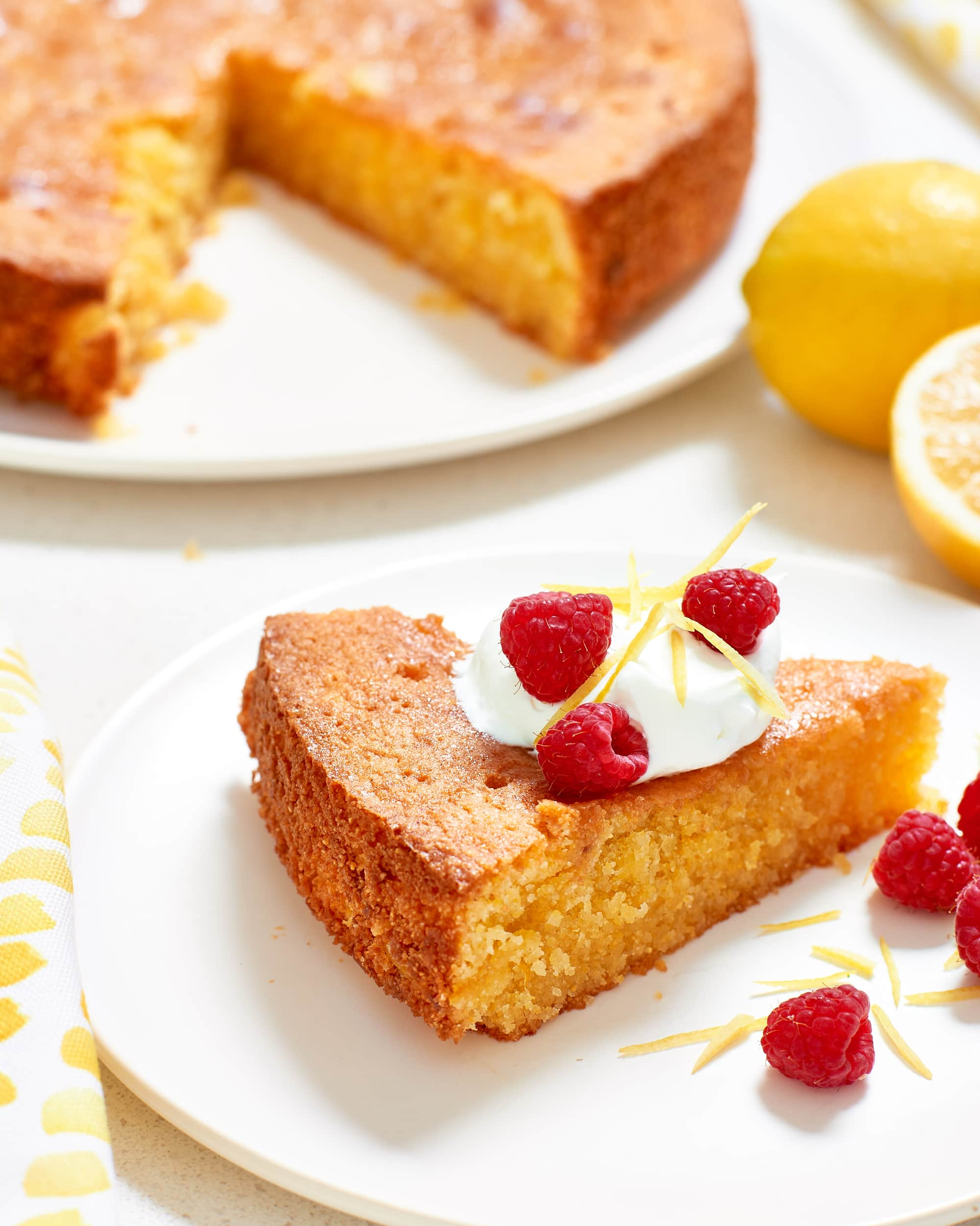 Recipe: Sticky Gluten-Free Lemon Cake