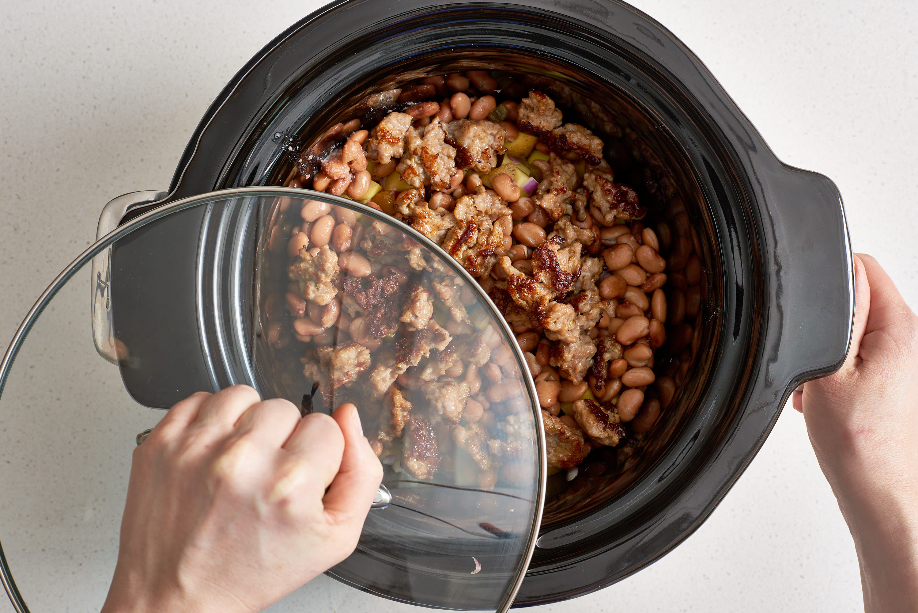 How To Make Slow Cooker Breakfast Burrito Bowls: gallery image 5