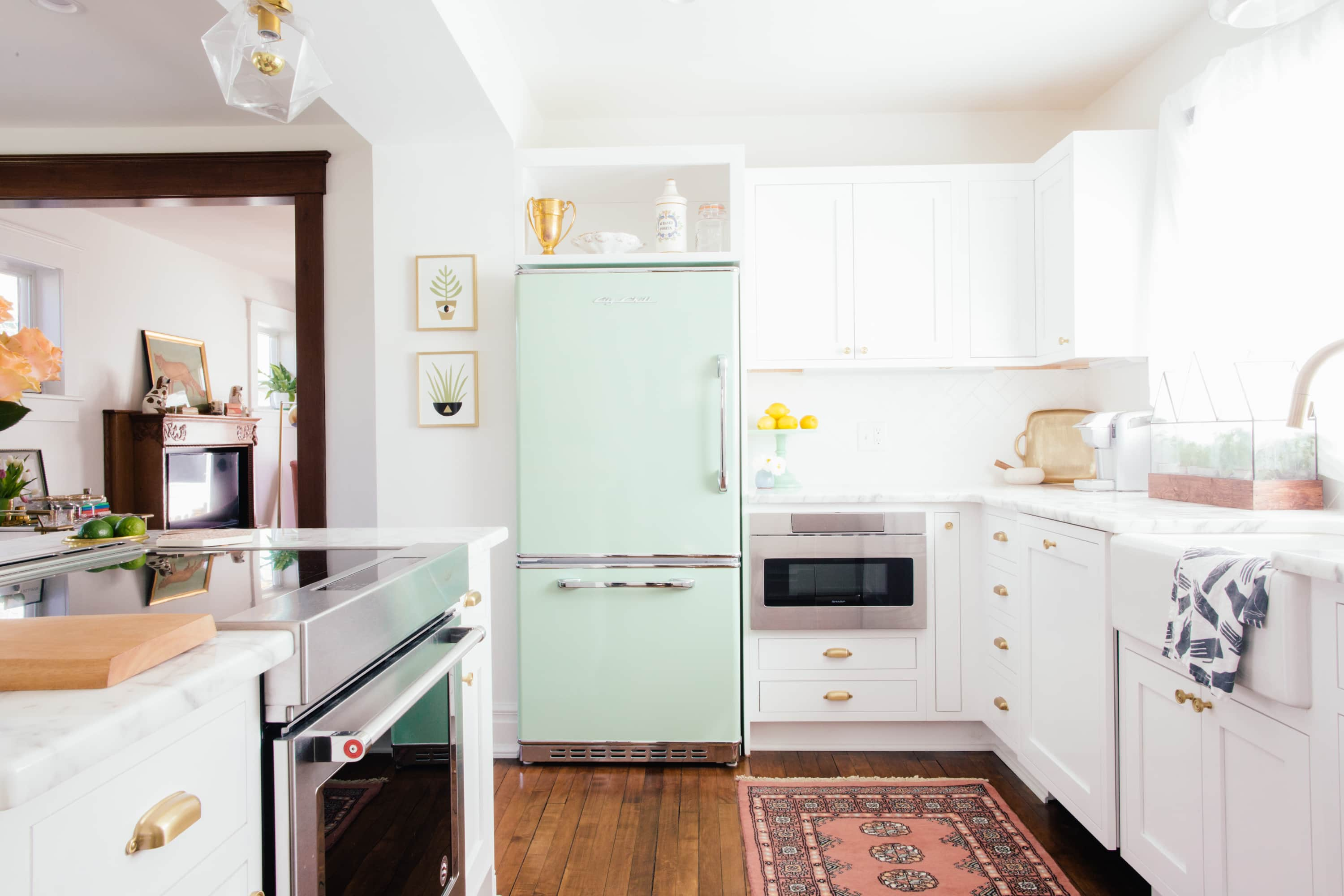 10 Gorgeous Kitchens That Prove You Need To Put A Rug In There Kitchn