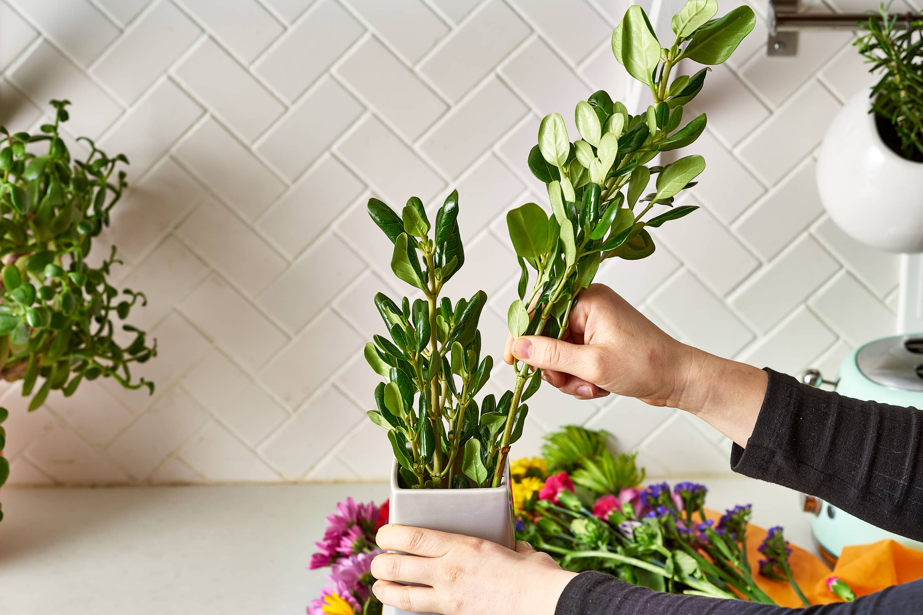 Make a Cheap Grocery Store Bouquet Look Like a Million Bucks: gallery image 6