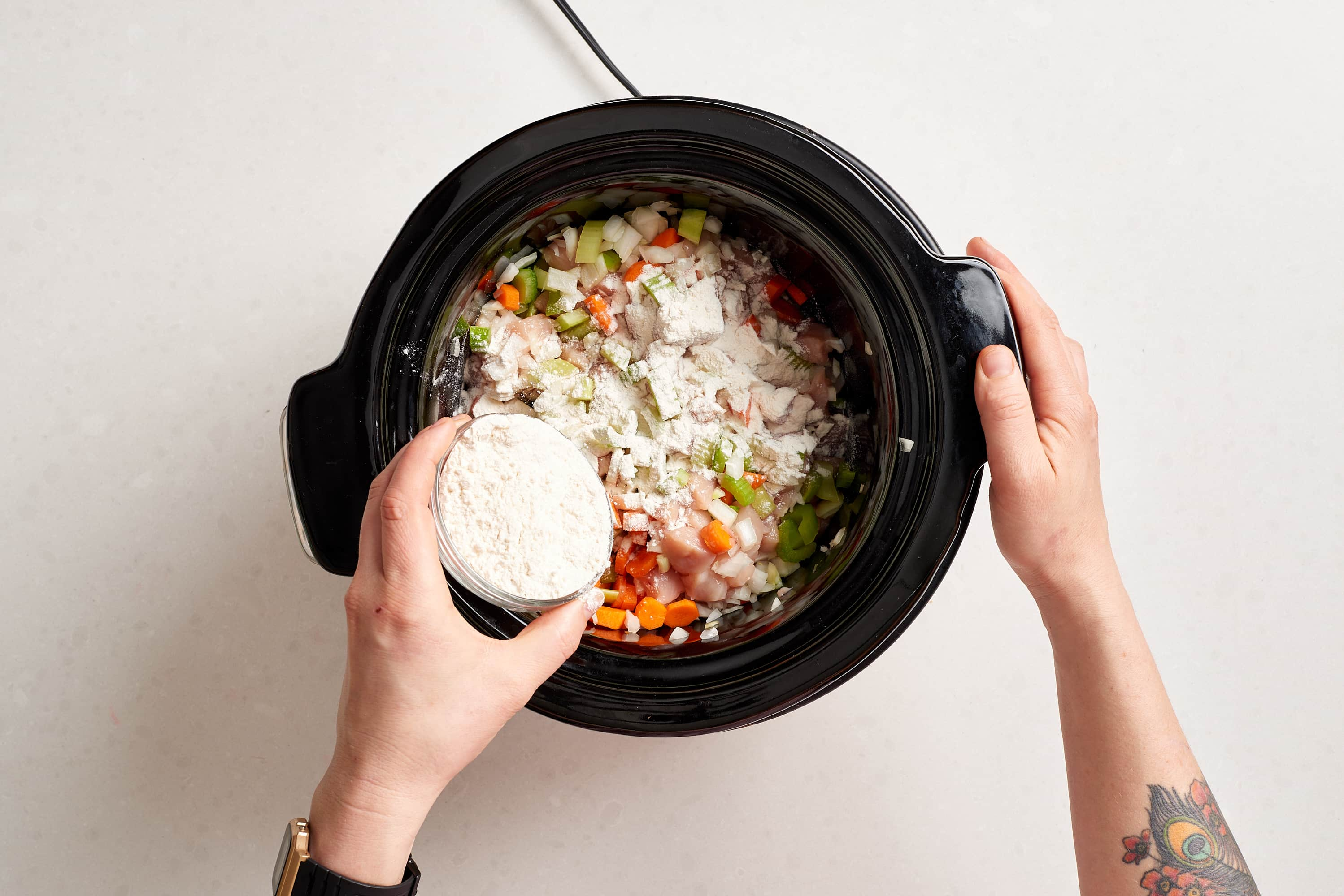 How To Make Slow Cooker Cream of Chicken Soup: gallery image 4