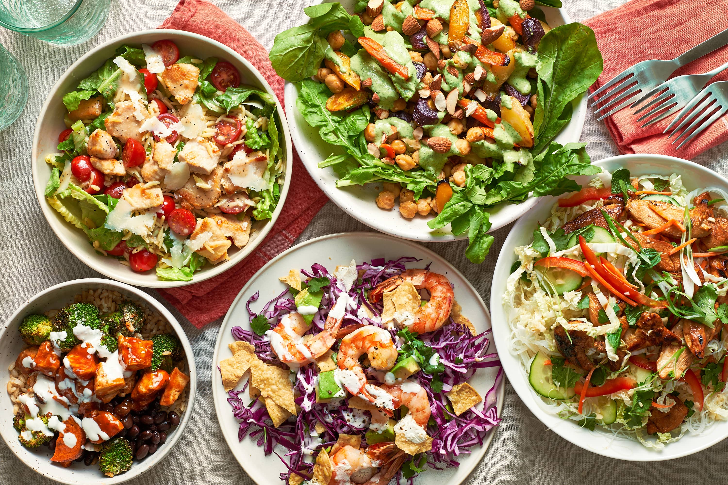 5 Healthy and Hearty Dinner Salads to Save for Later