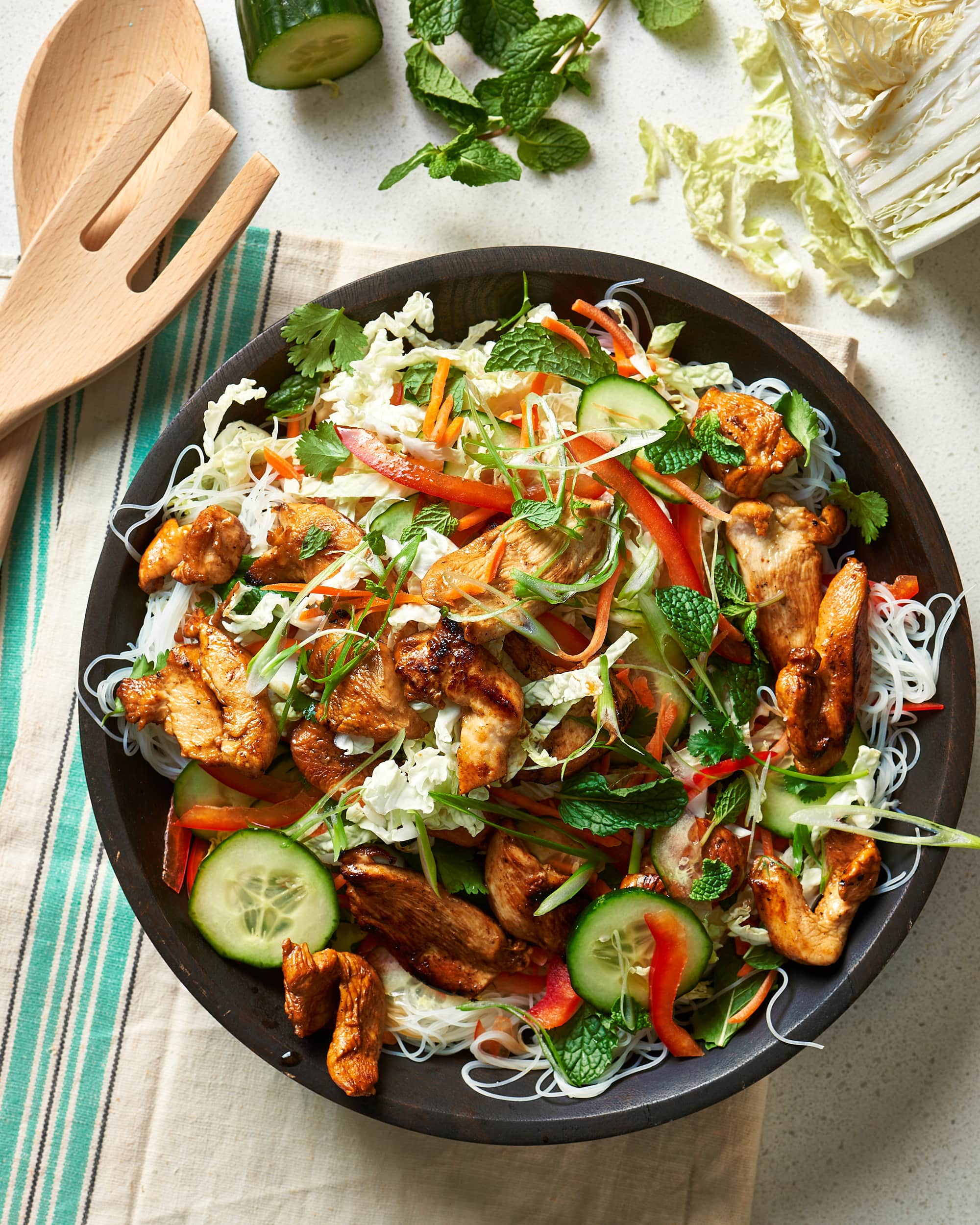 Recipe: Vietnamese-Style Chicken & Noodle Salad