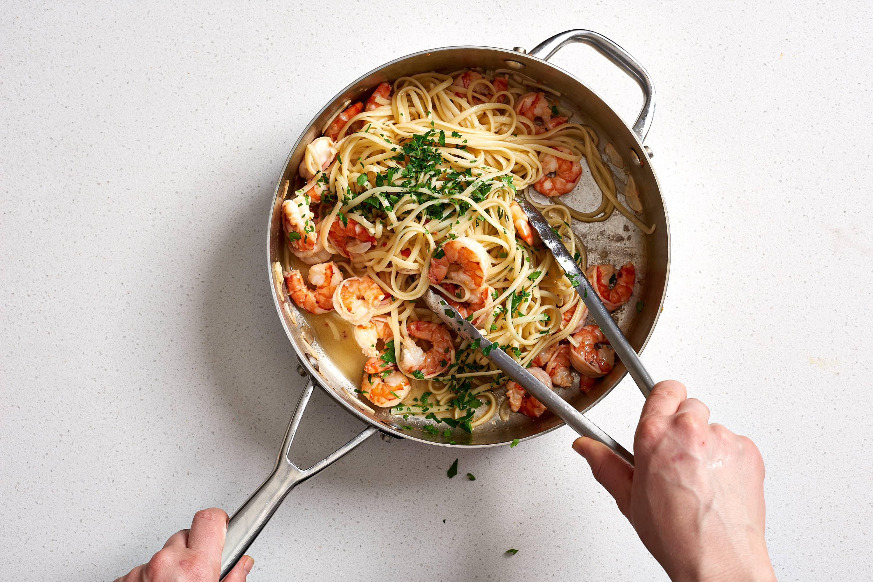 How To Make the Best Easy Shrimp Scampi (with Linguine): gallery image 10