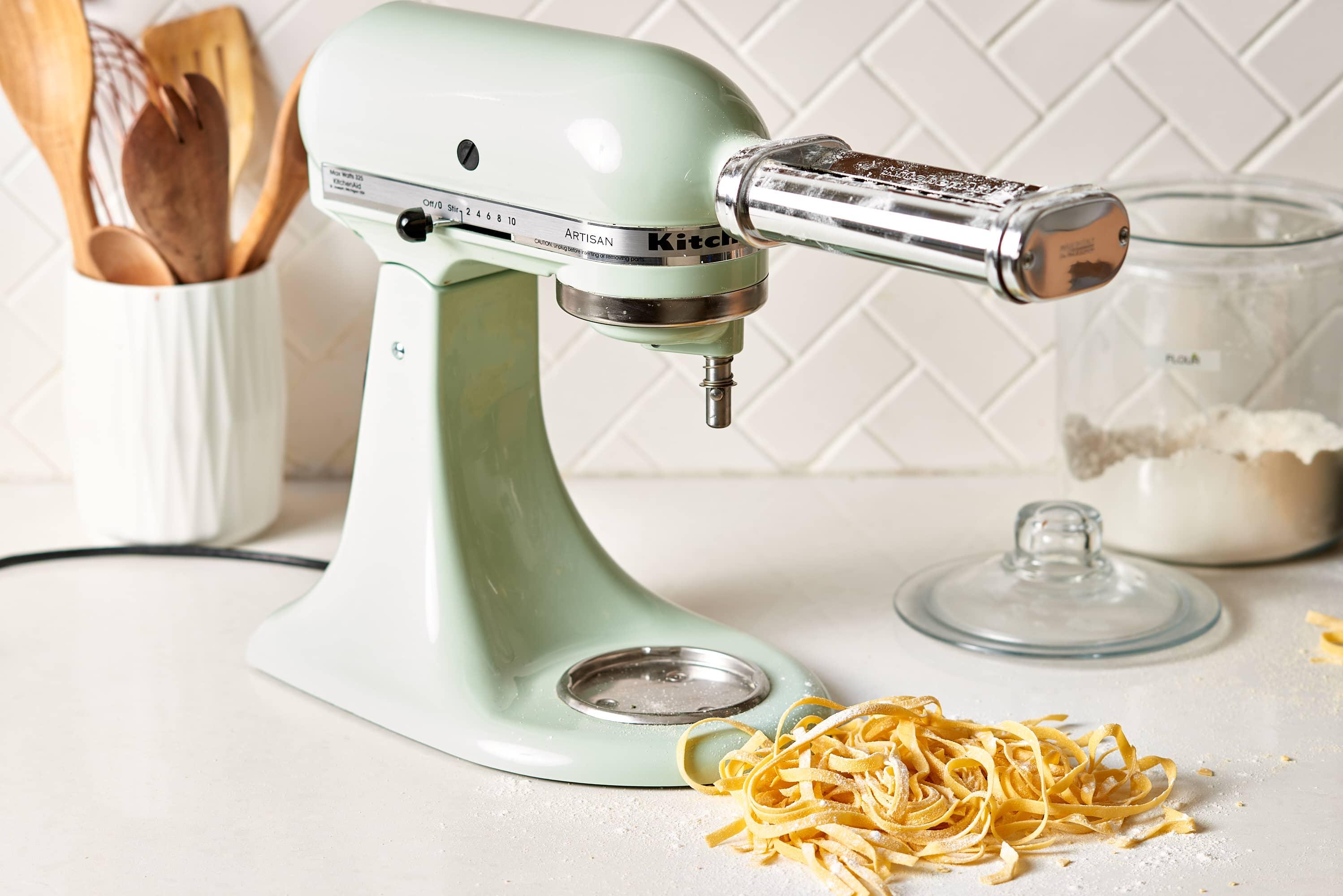 How To Clean A Kitchenaid Pasta Attachment Kitchn