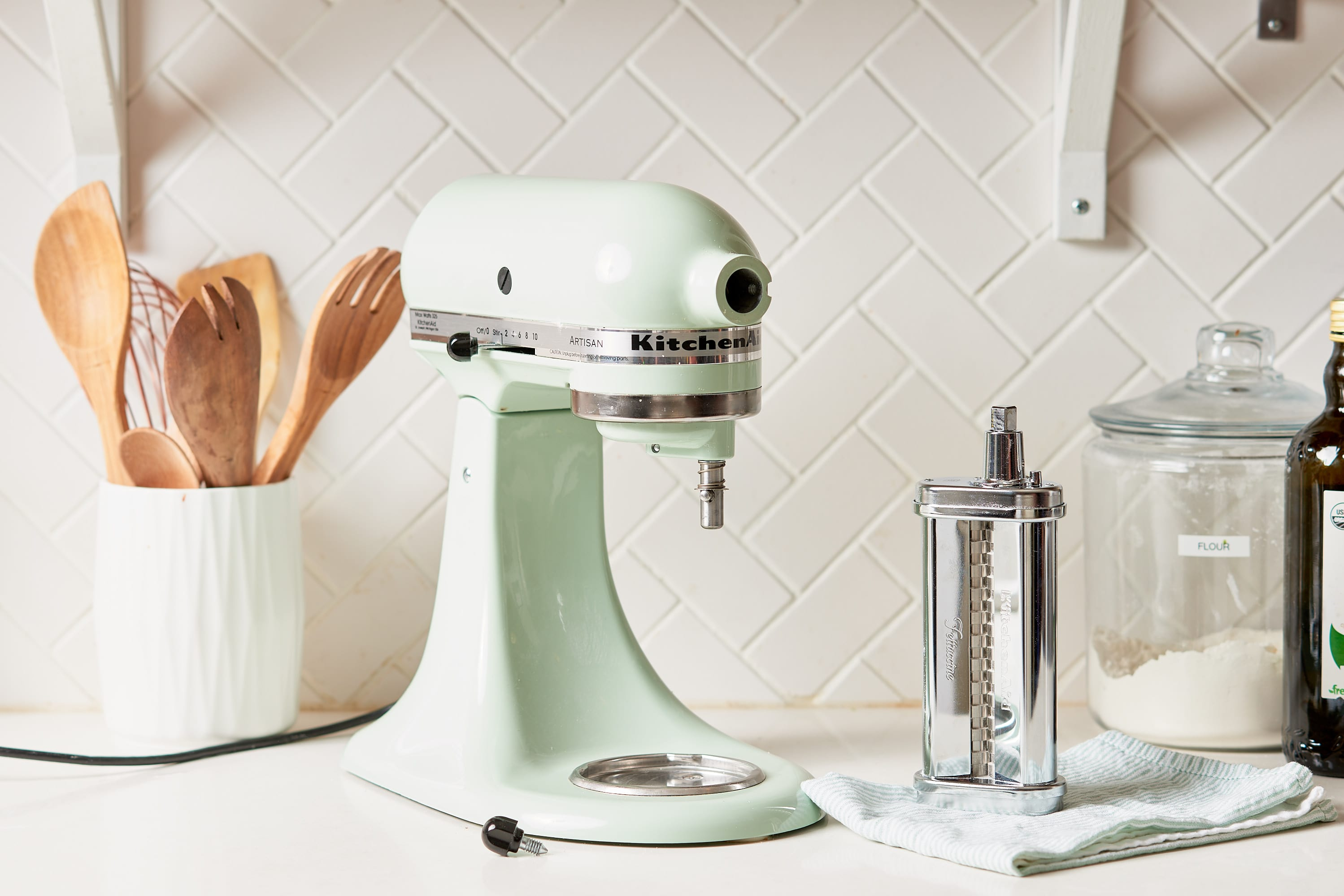 How To Clean a KitchenAid Pasta Attachment: gallery image 6