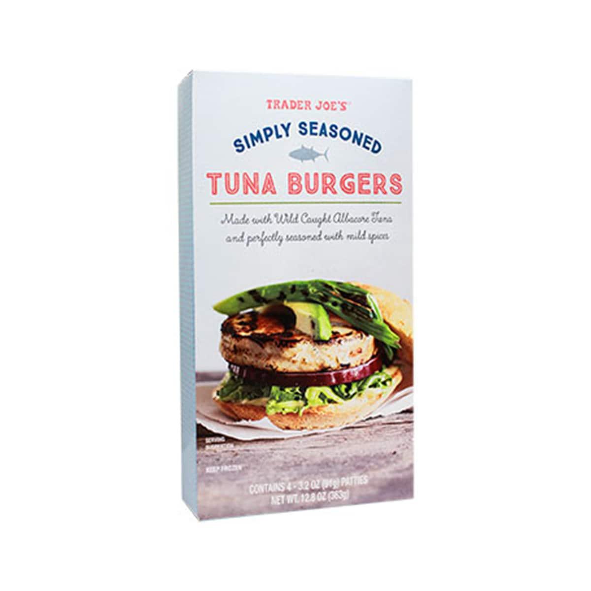 Simply Seasoned Tuna Burgers