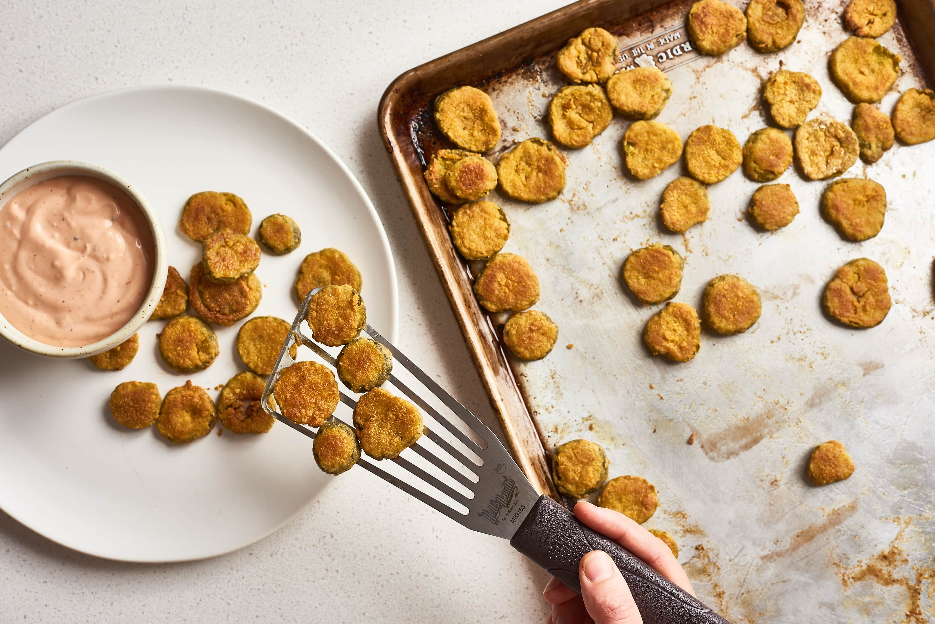 How To Make Oven-Fried Pickles: gallery image 10