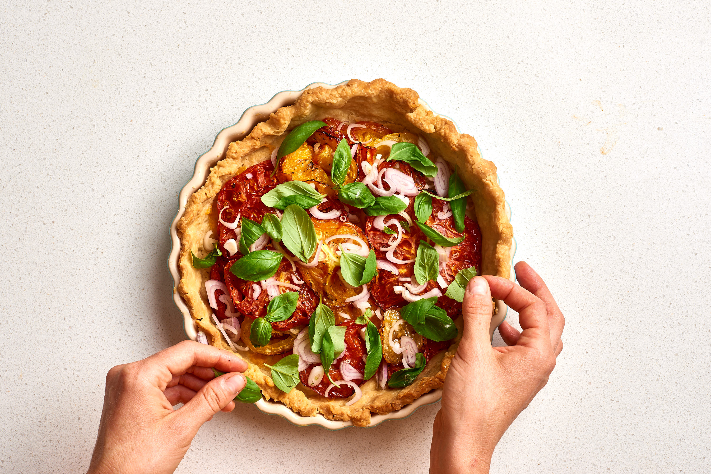 How To Make Easy Tomato Pie: gallery image 9