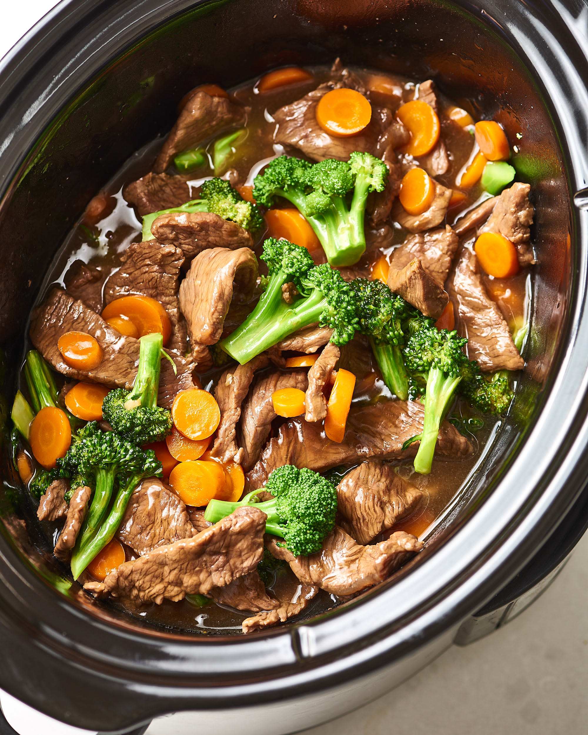 This Slow Cooker Beef and Broccoli Is Better than Takeout