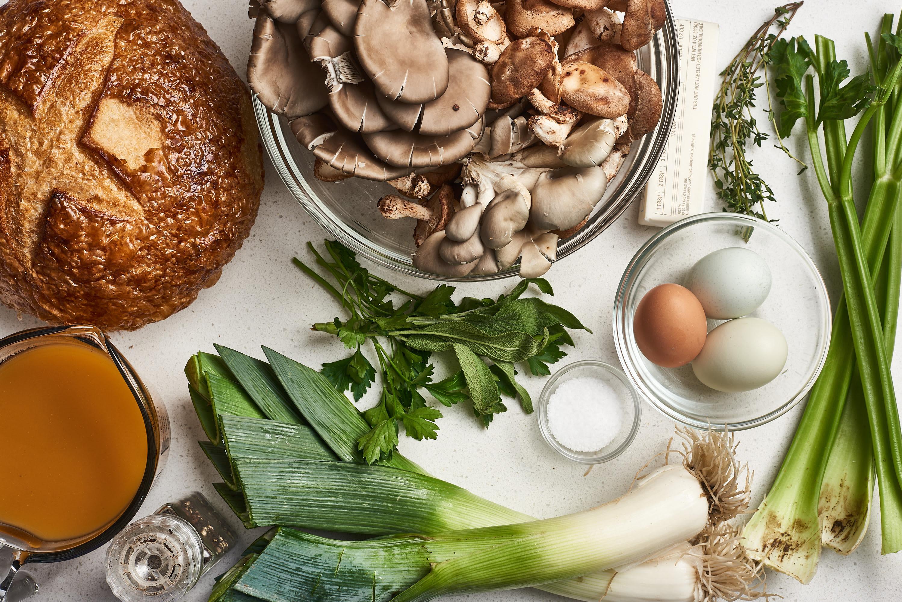How To Make Wild Mushroom Stuffing: gallery image 2