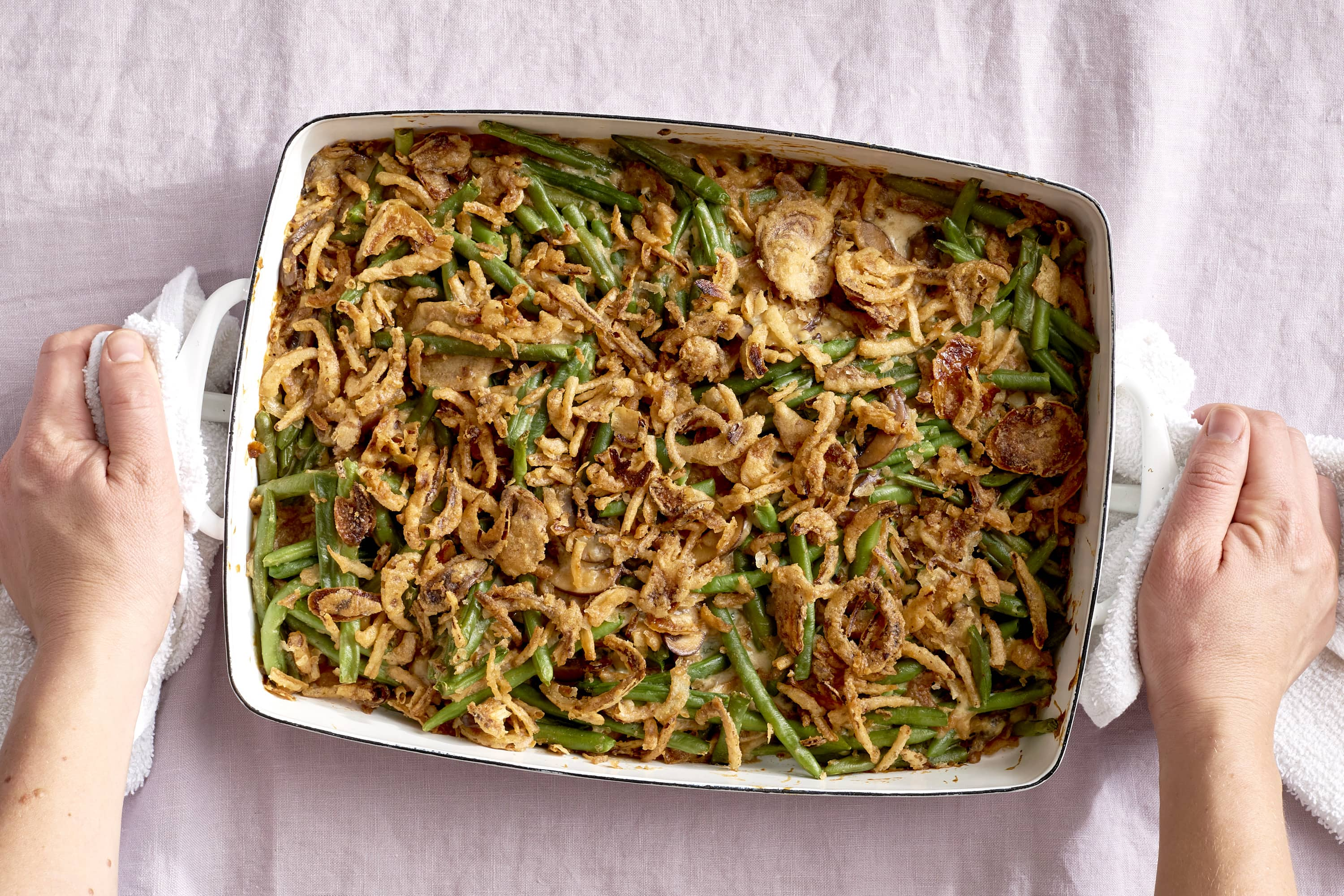 How To Make Classic Green Bean Casserole: gallery image 6