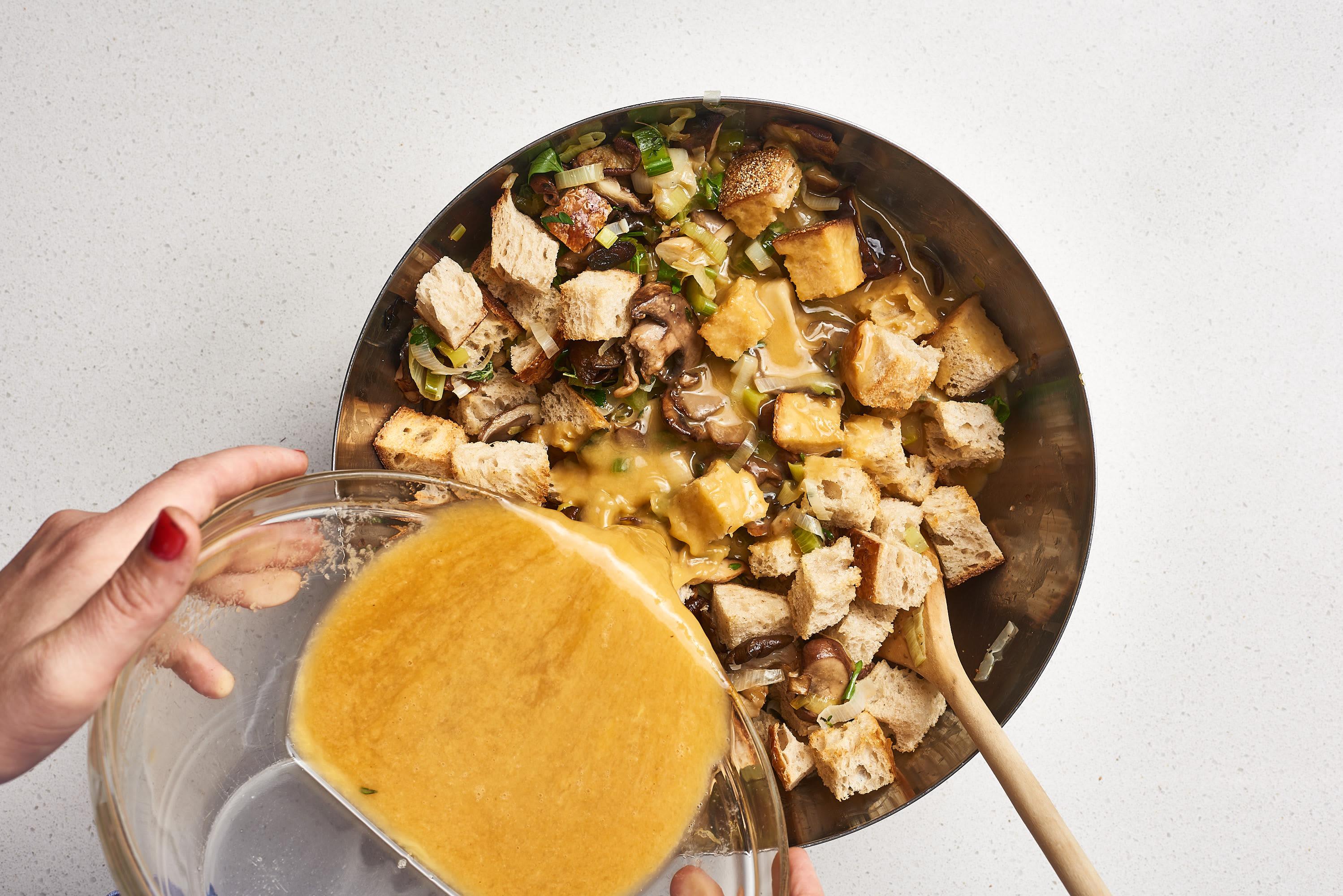 How To Make Wild Mushroom Stuffing: gallery image 8