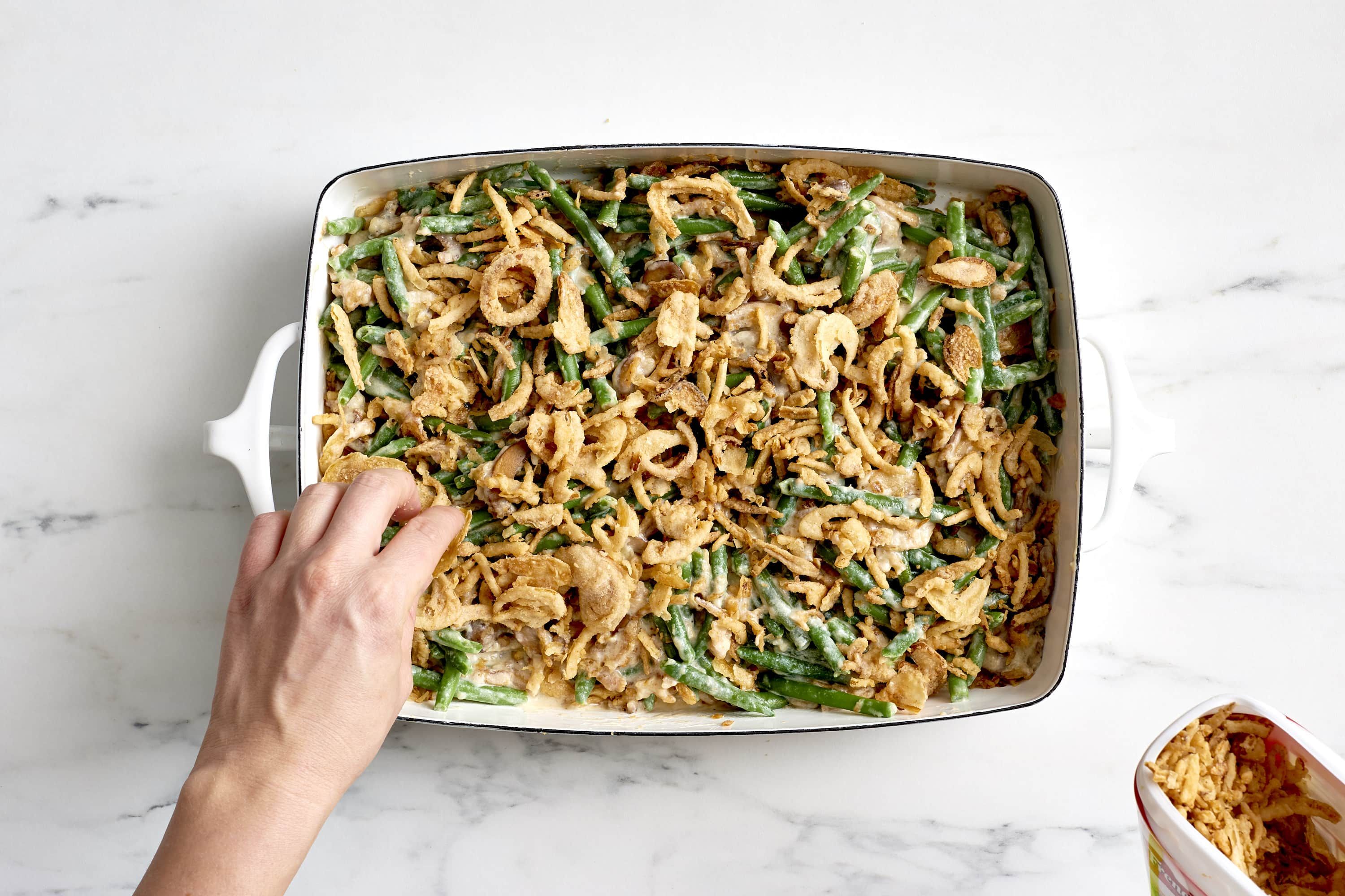 How To Make Classic Green Bean Casserole: gallery image 5