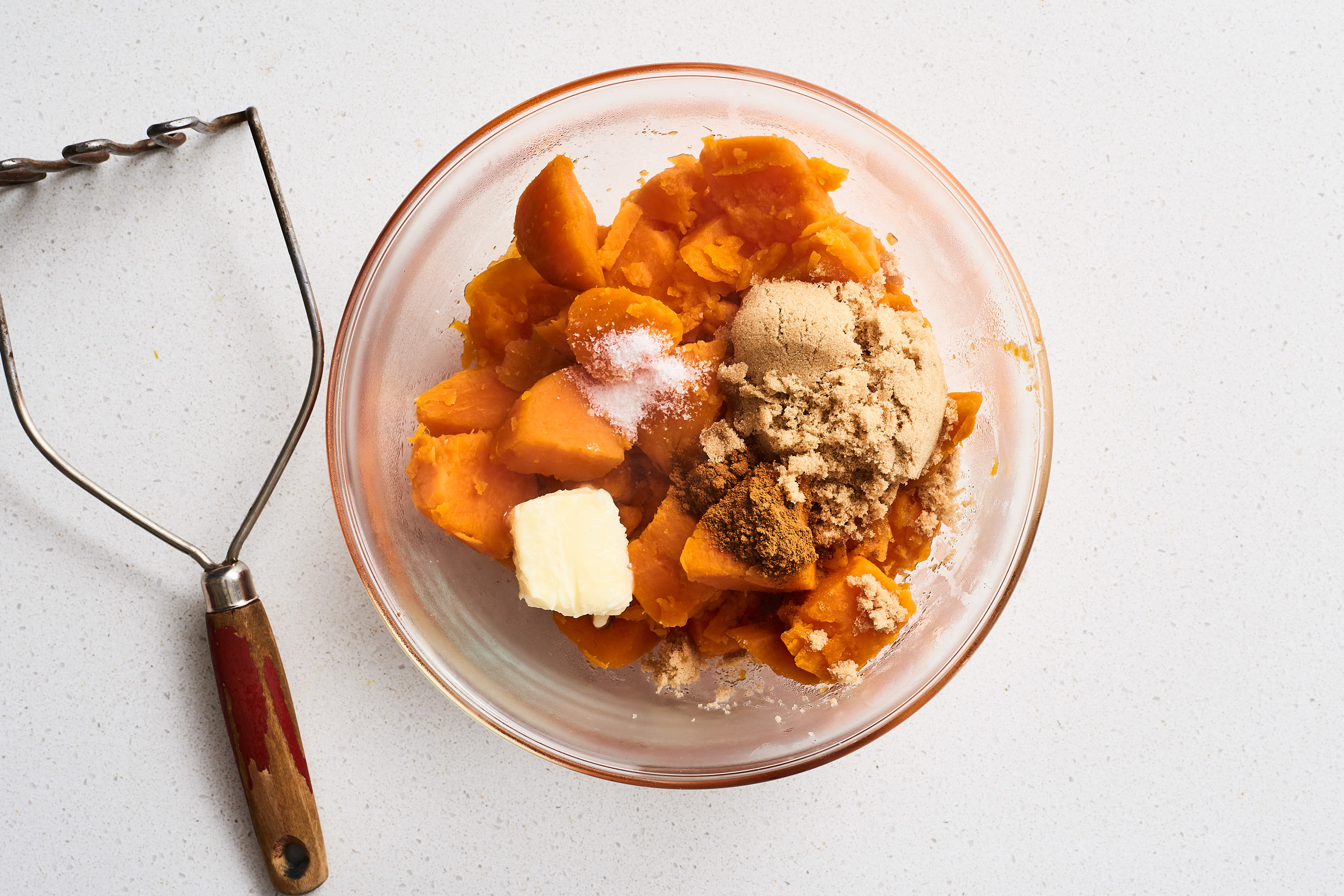How To Make the Absolute Easiest 5-Ingredient Sweet Potato Casserole: gallery image 6