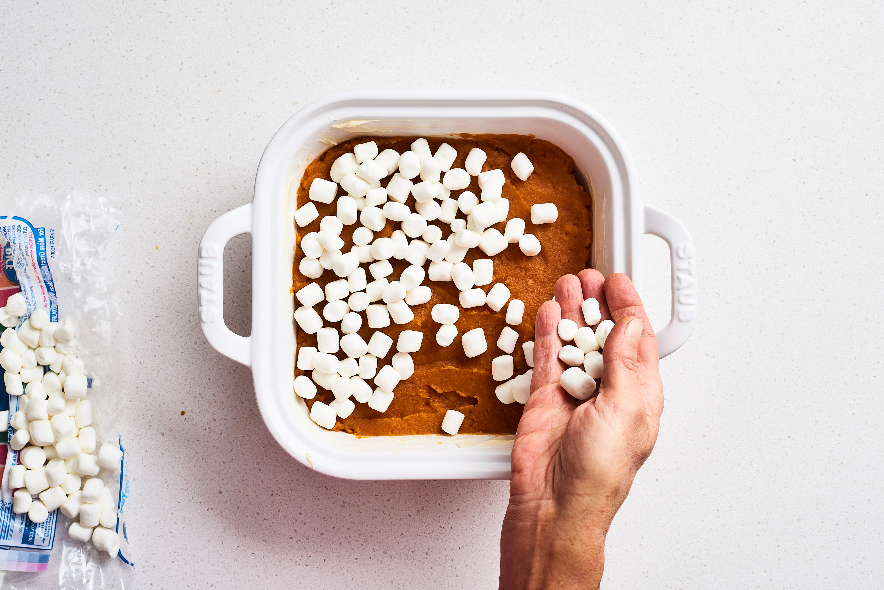 How To Make the Absolute Easiest 5-Ingredient Sweet Potato Casserole: gallery image 7