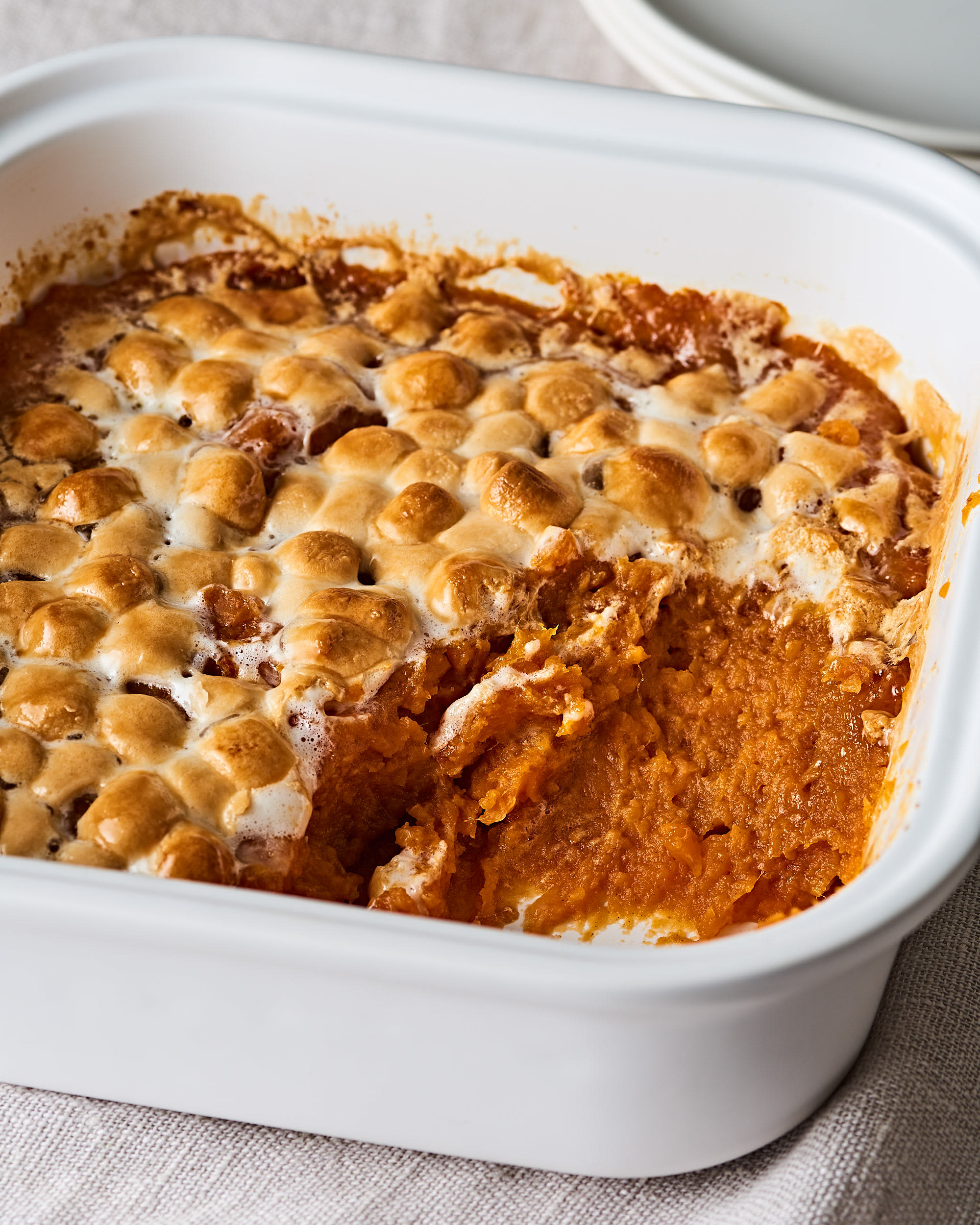 How To Make the Absolute Easiest 5-Ingredient Sweet Potato Casserole: gallery image 8