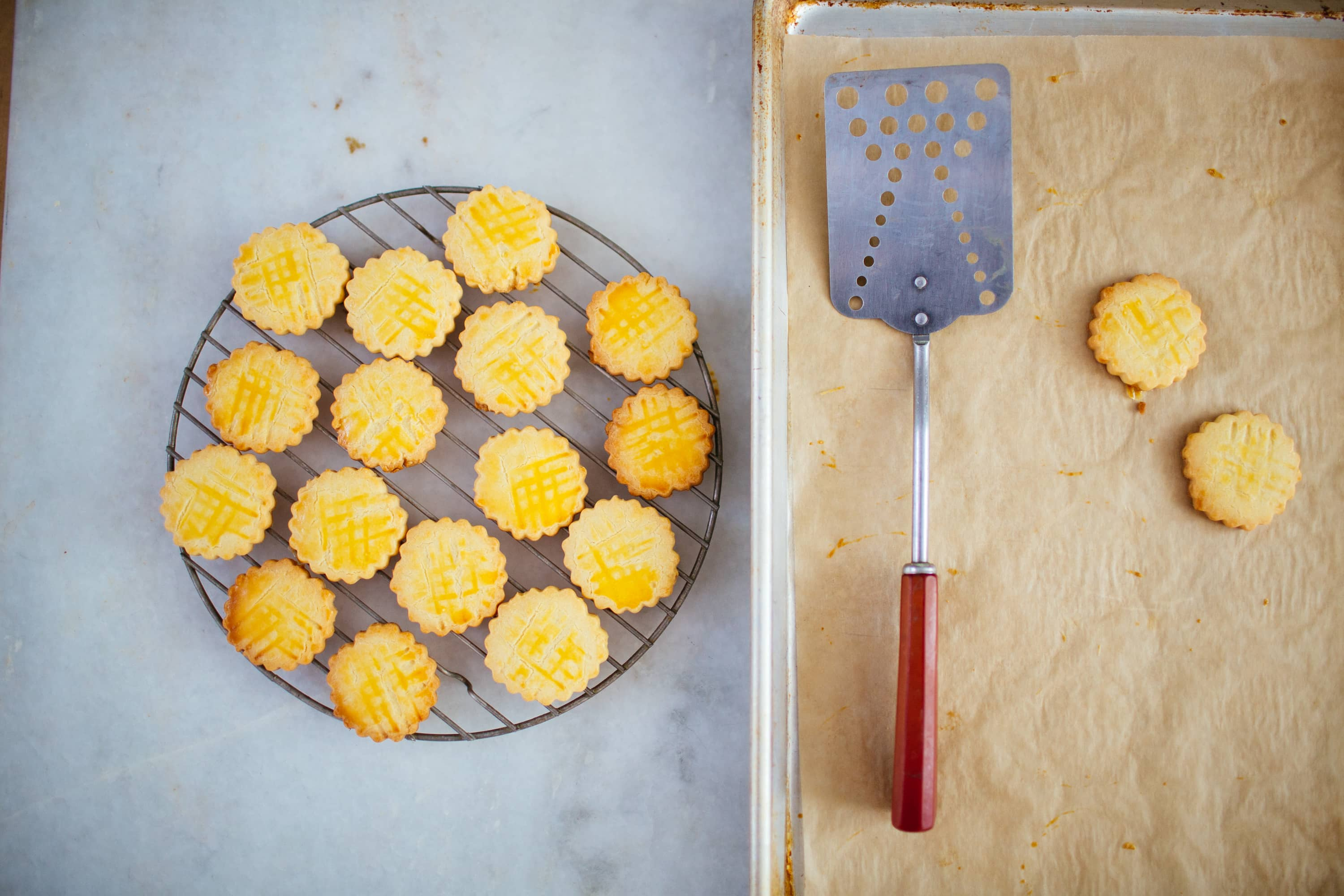 Recipe: Galette des Brittany (Salted Butter Cookies): gallery image 1