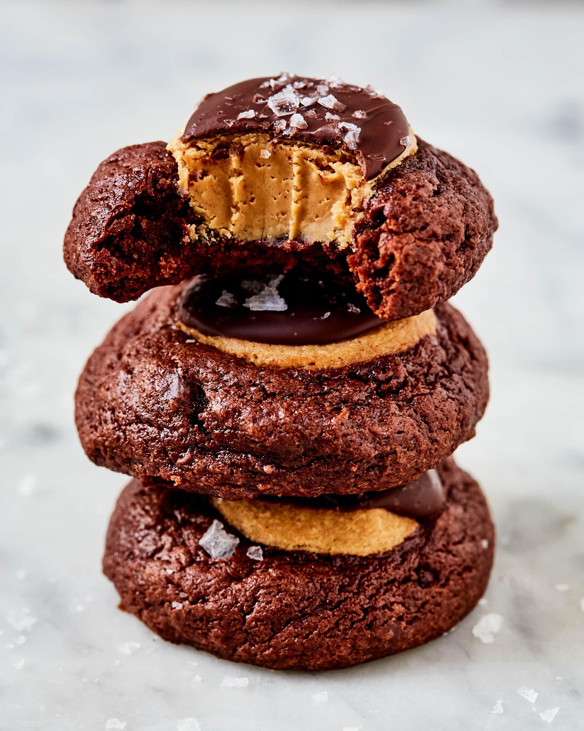 Recipe: Buckeye Brownie Cookies