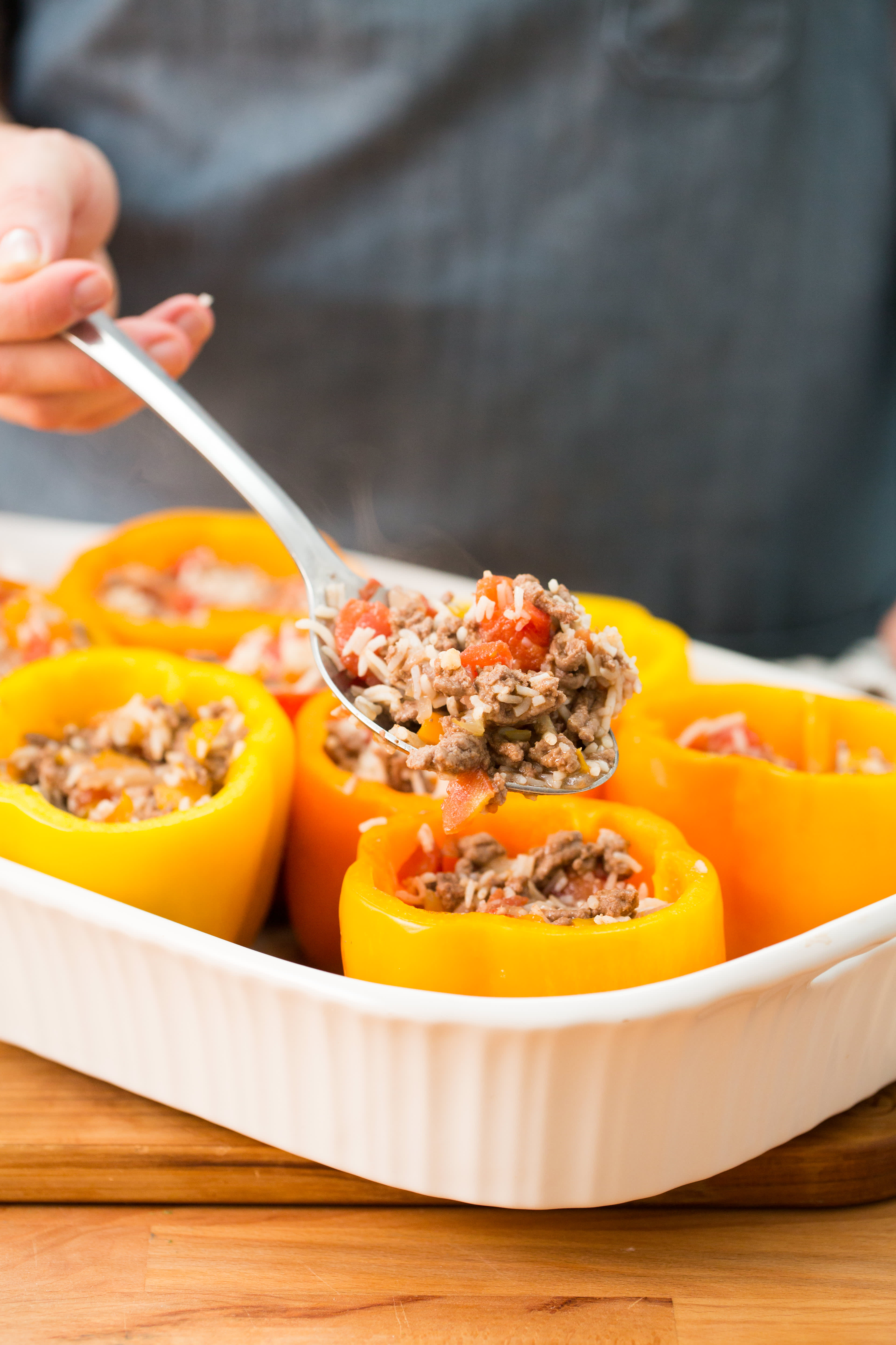 How To Make Stuffed Peppers: gallery image 4