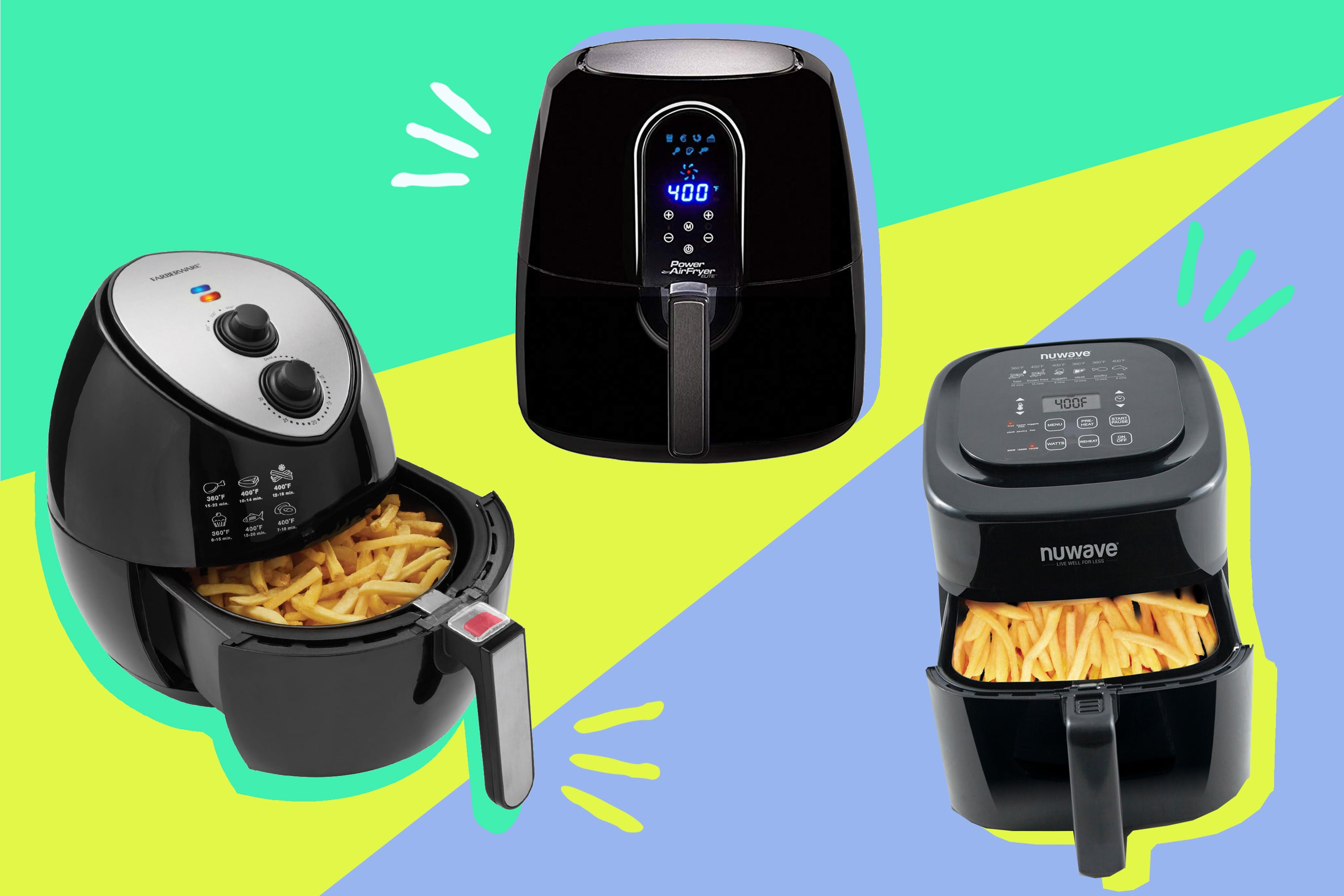 We Compared the NuWave, Power Air, and Farberware Air Fryers: Here's Our Candid Review | Kitchn