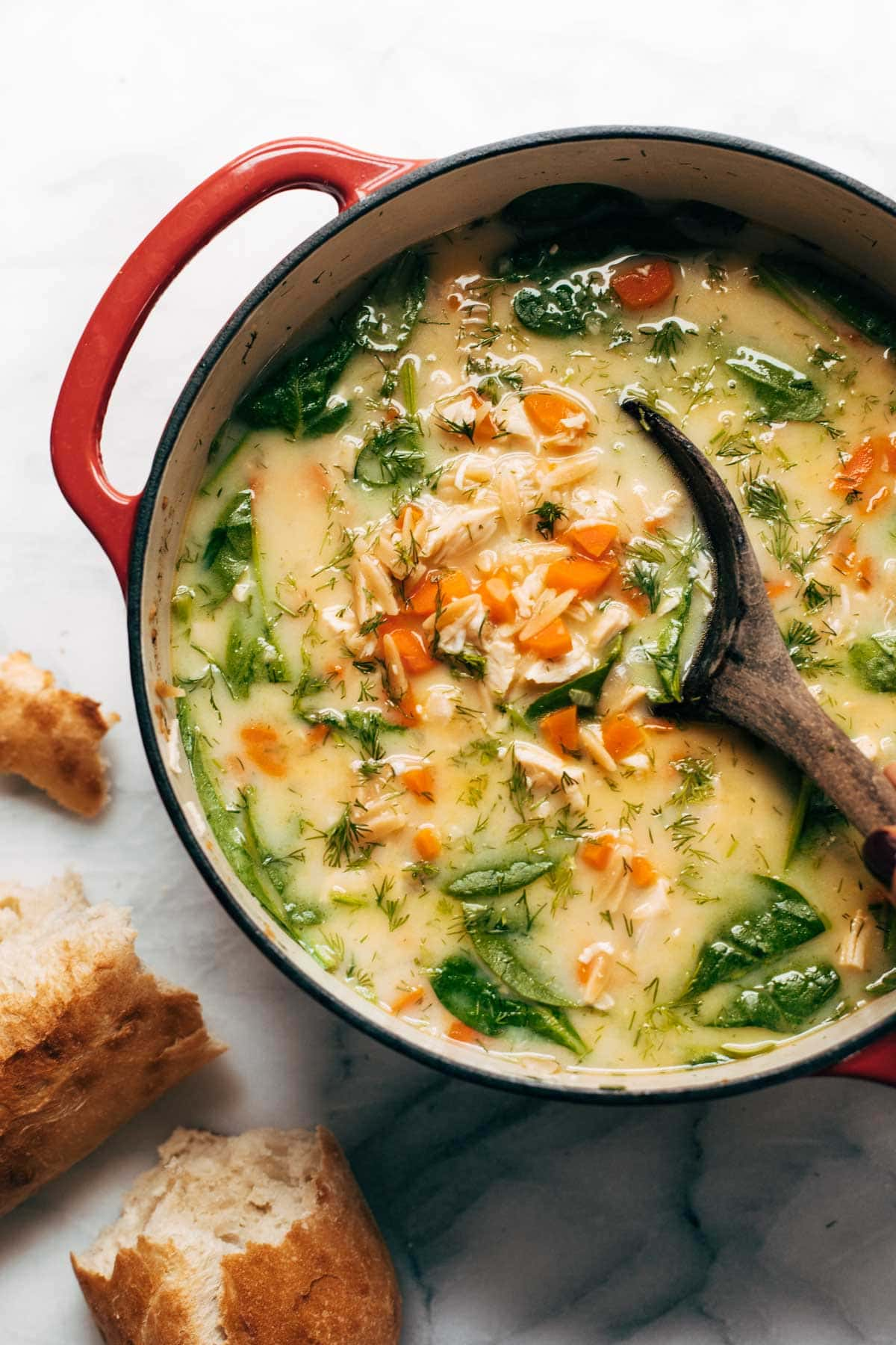 This Lemony Chicken Soup Is Exactly What You Need Right Now