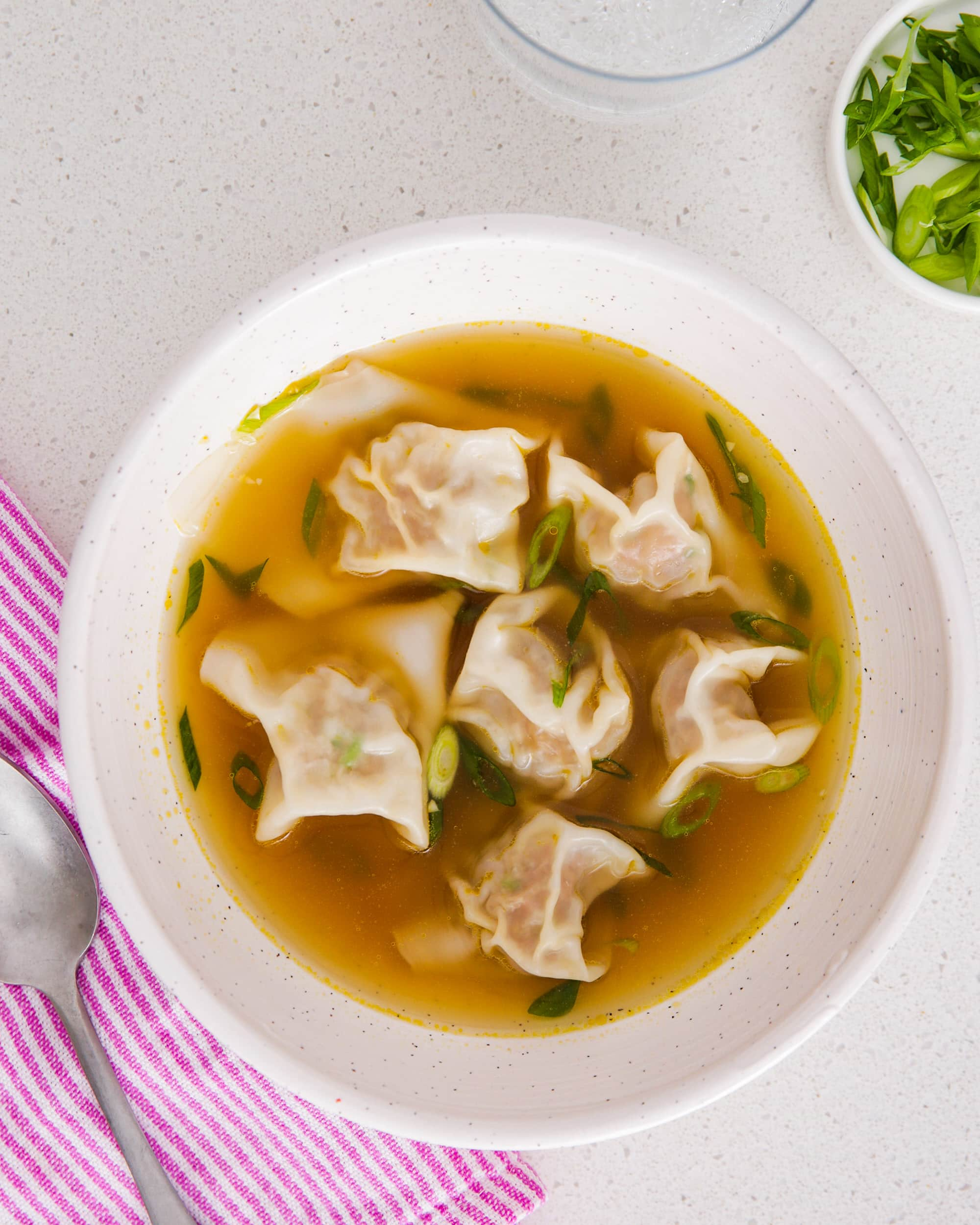 Recipe: Easy Wonton Soup