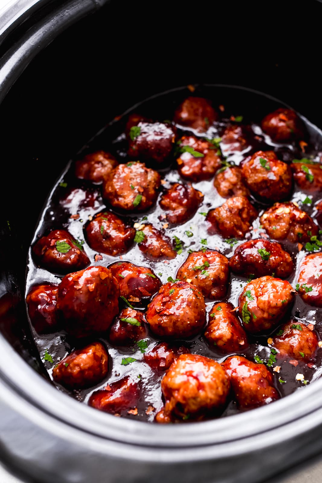 Slow Cooker Honey-Chipotle Meatballs Are a Party Win