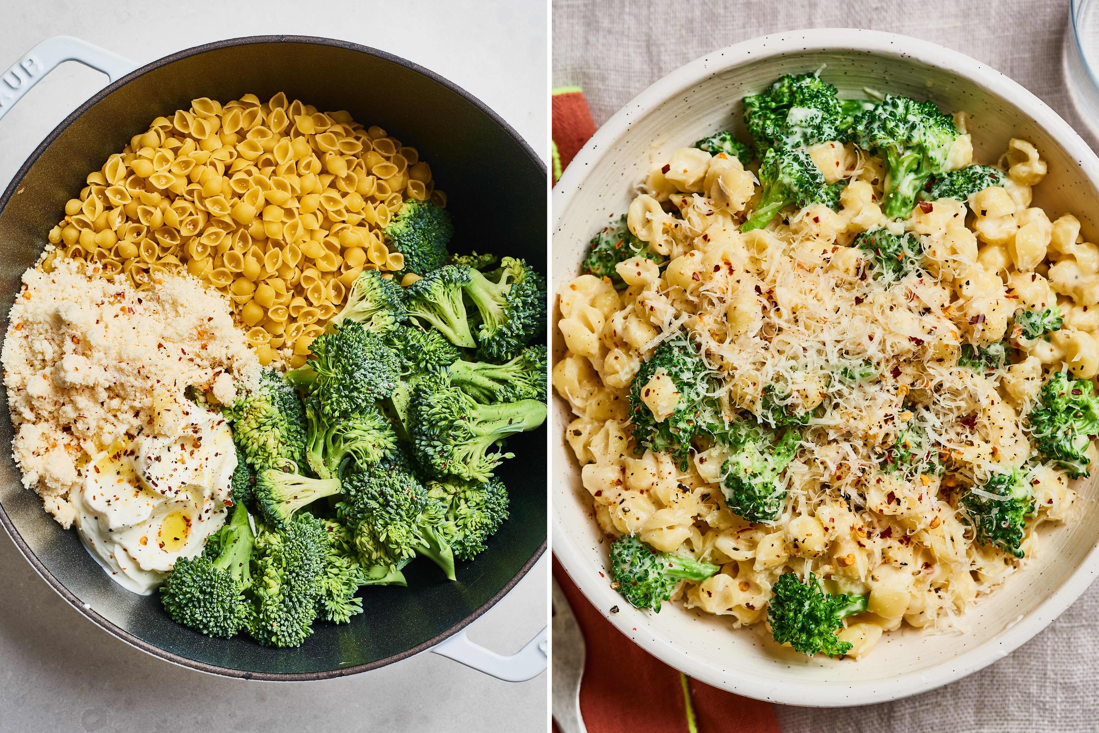 Recipe: One-Pot Creamy Broccoli Pasta