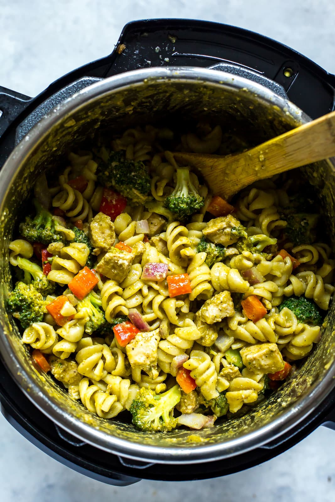 This Easy Chicken Pesto Pasta Is an Instant Pot Favorite