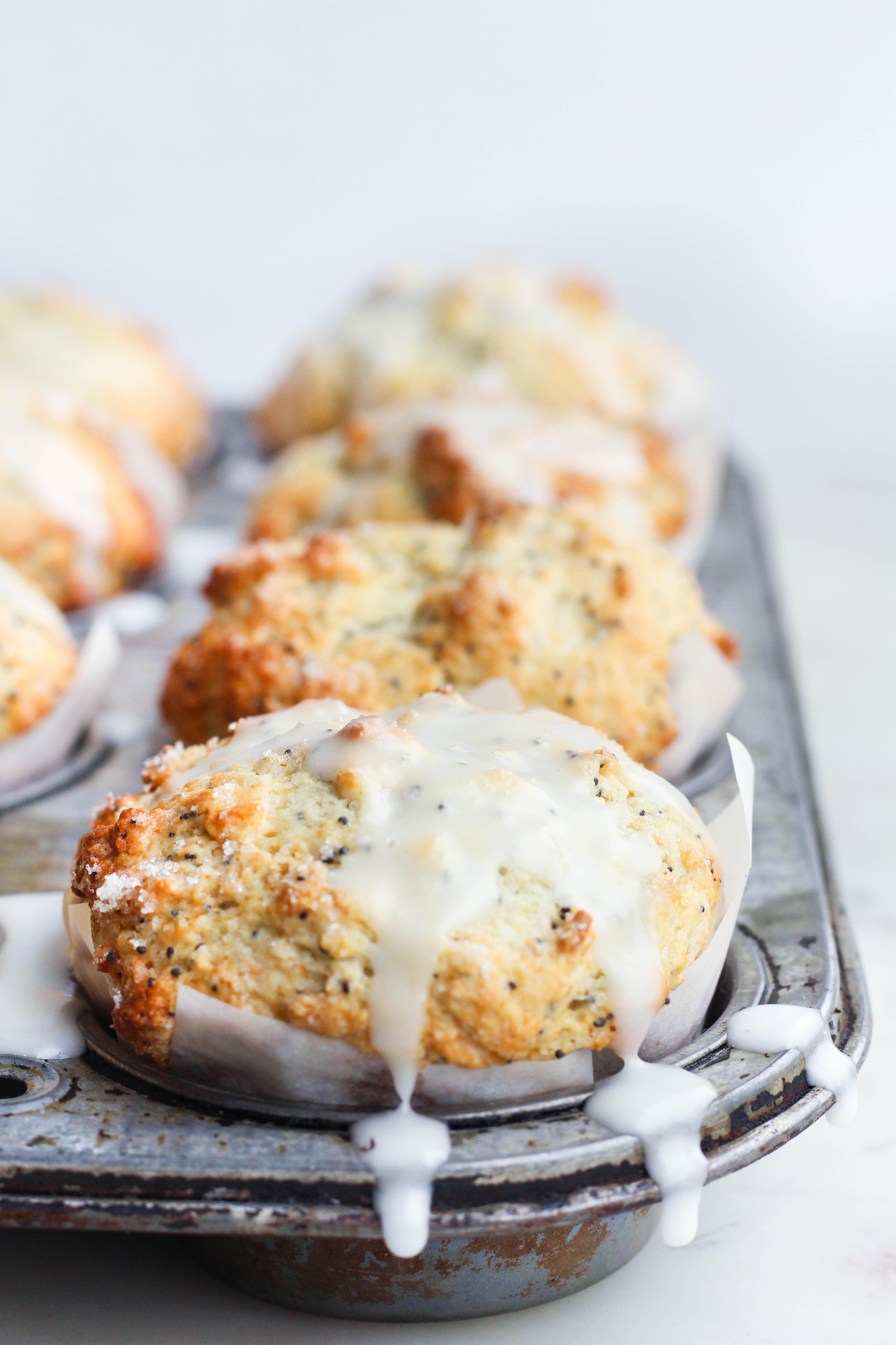 Make These Buttermilk Lemon Poppyseed Muffins for Breakfast