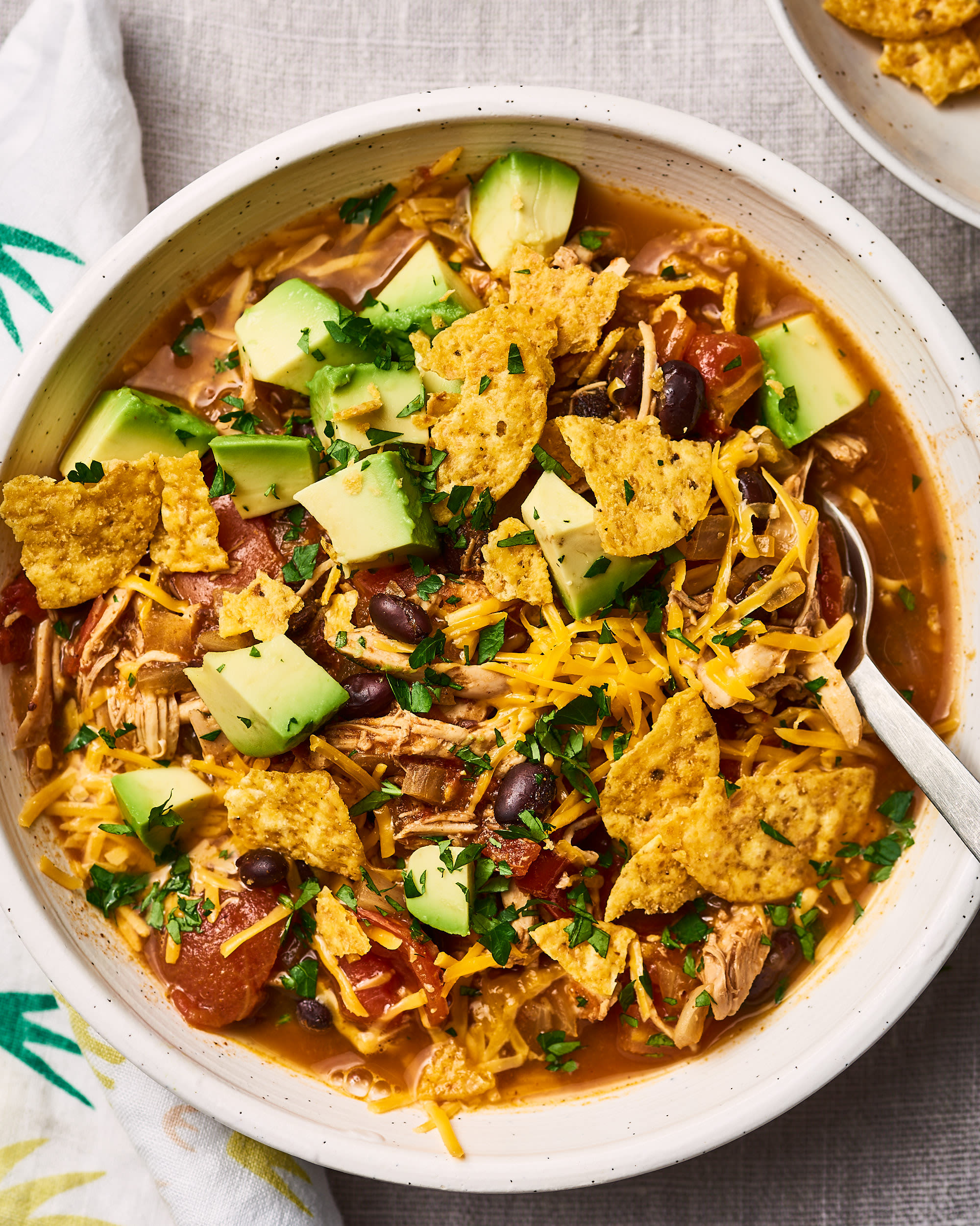 How To Make Weeknight-Friendly Chicken Tortilla Soup