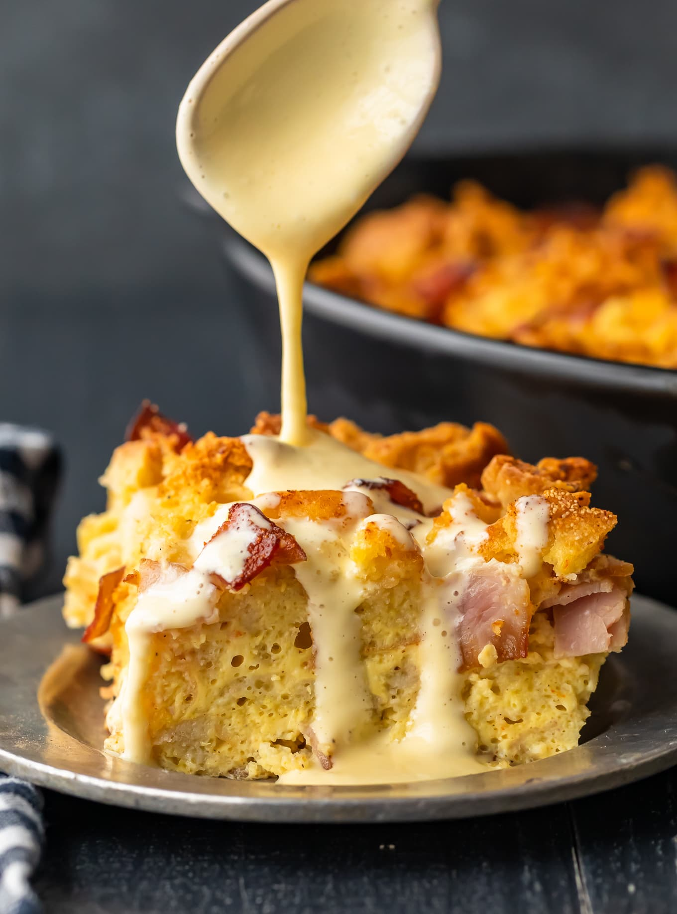 This Easy Eggs Benedict Casserole Is Brunch Goals