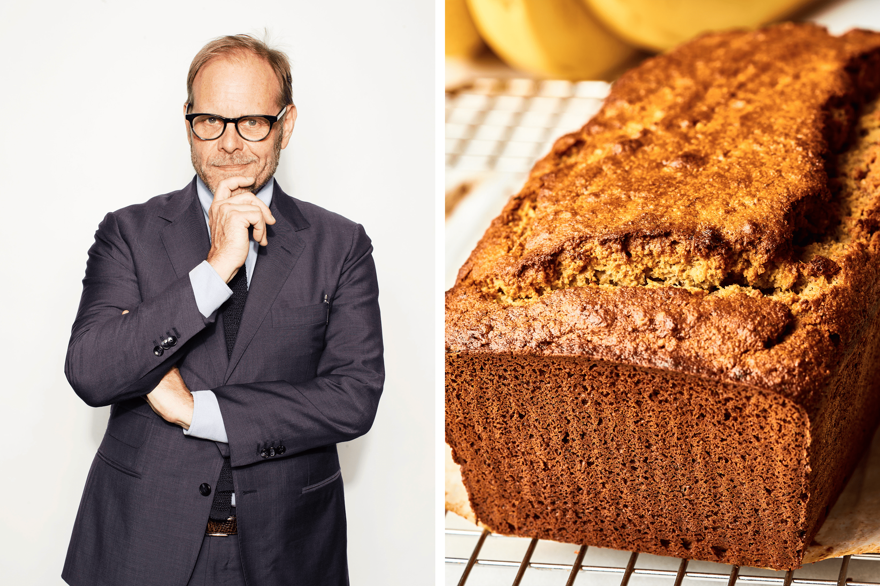 Alton Brown's One-Ingredient Trick for Great Banana Bread