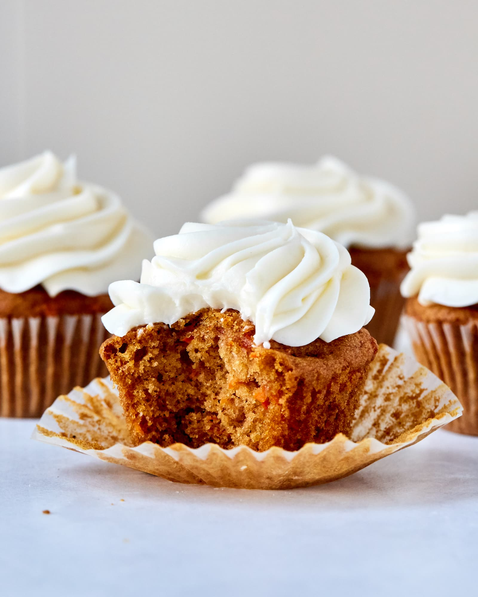 Recipe: Easy Carrot Cake Cupcakes with Cream Cheese Frosting